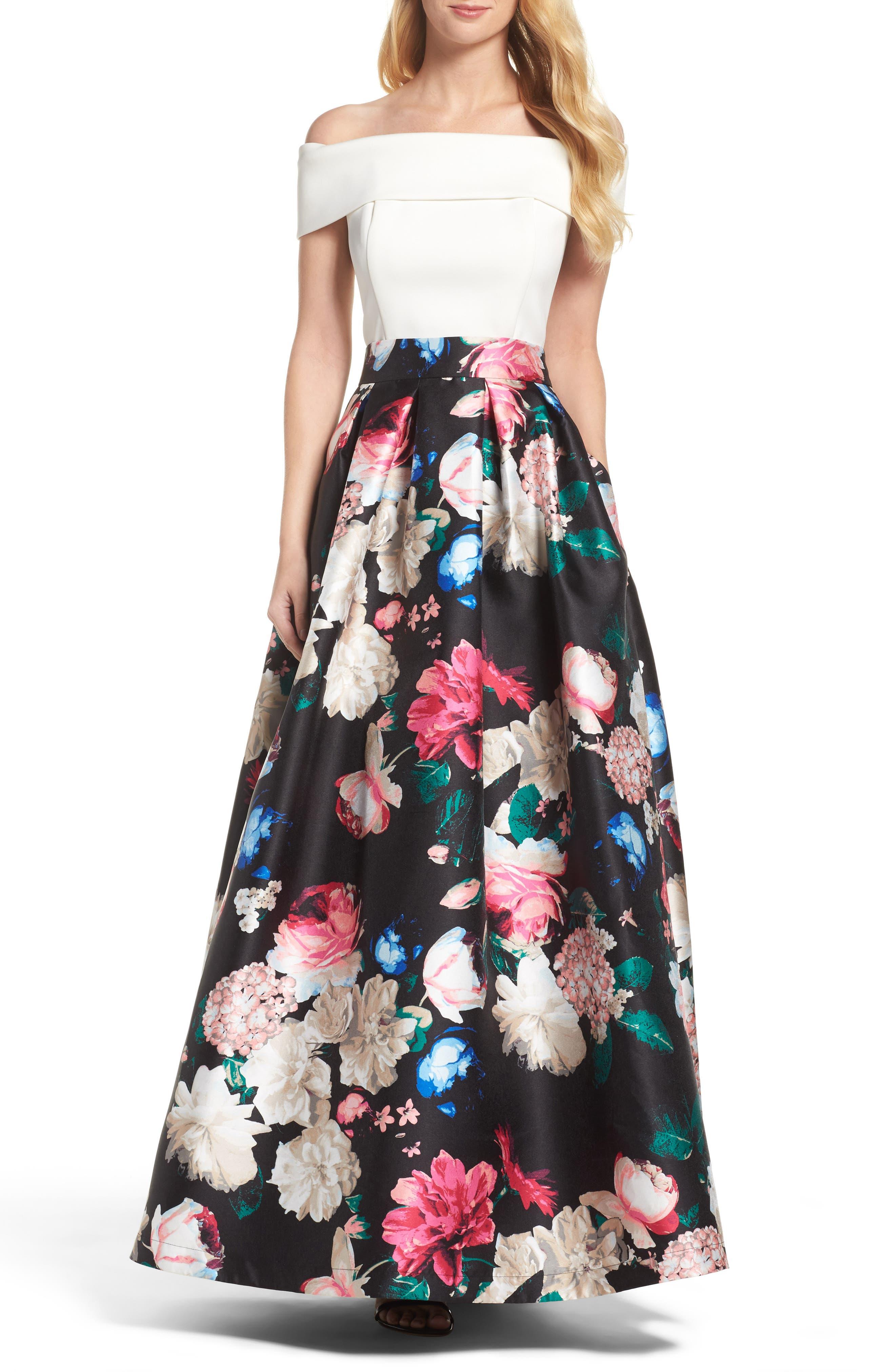 Faille Ball Skirt,                             Alternate thumbnail 6, color,                             Black/ Pink