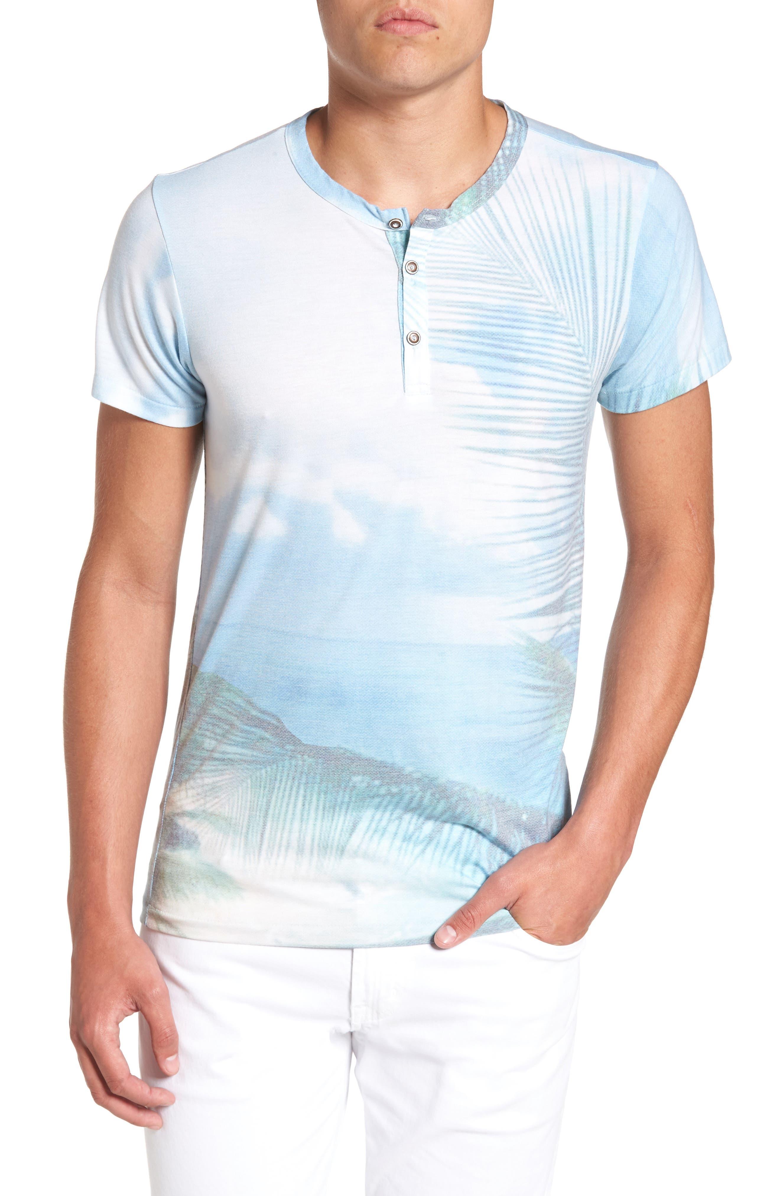 Quintana Henley T-Shirt,                         Main,                         color, Quintanna