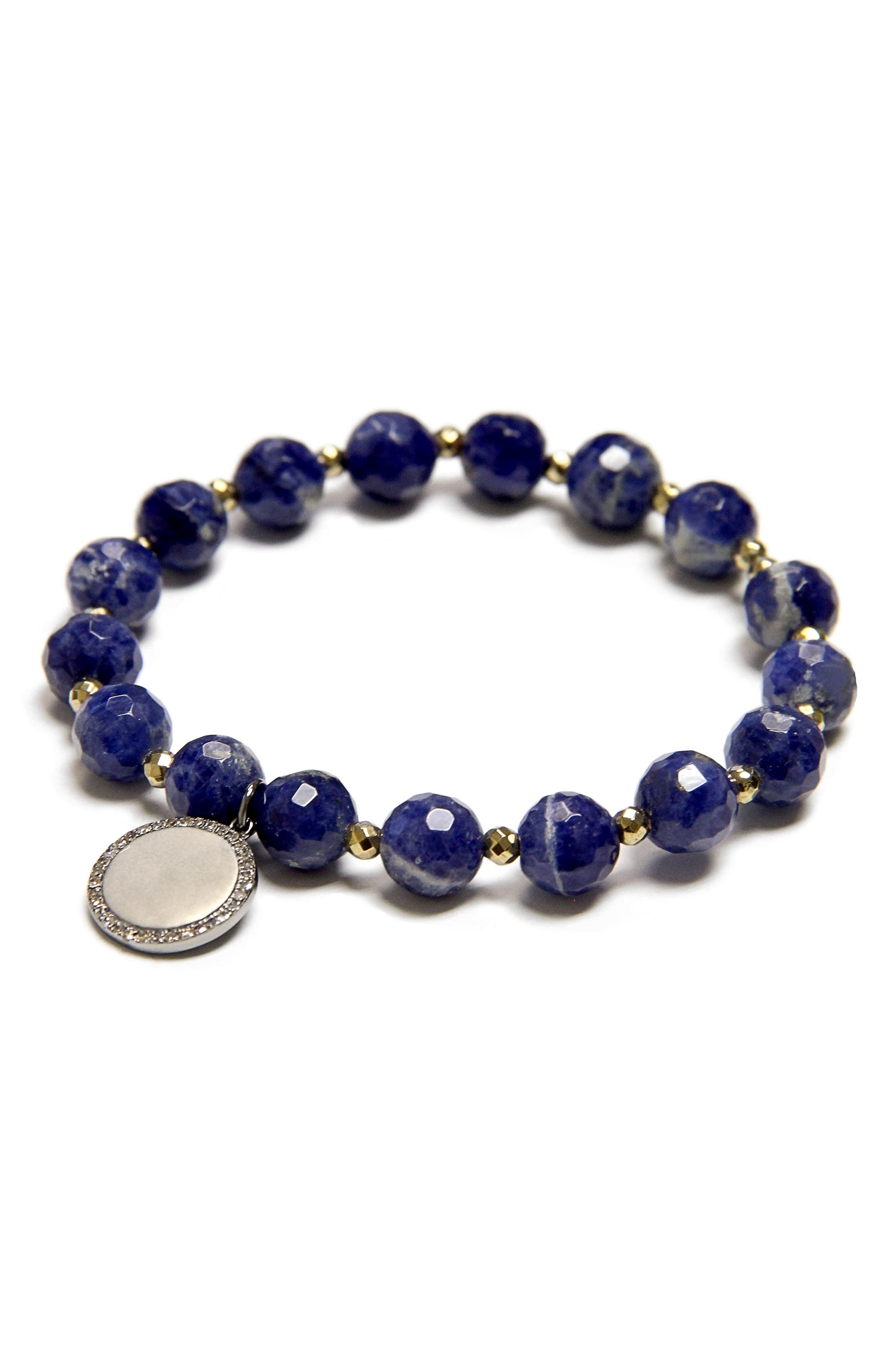 Alternate Image 1 Selected - Jane Basch Bead Stretch Bracelet
