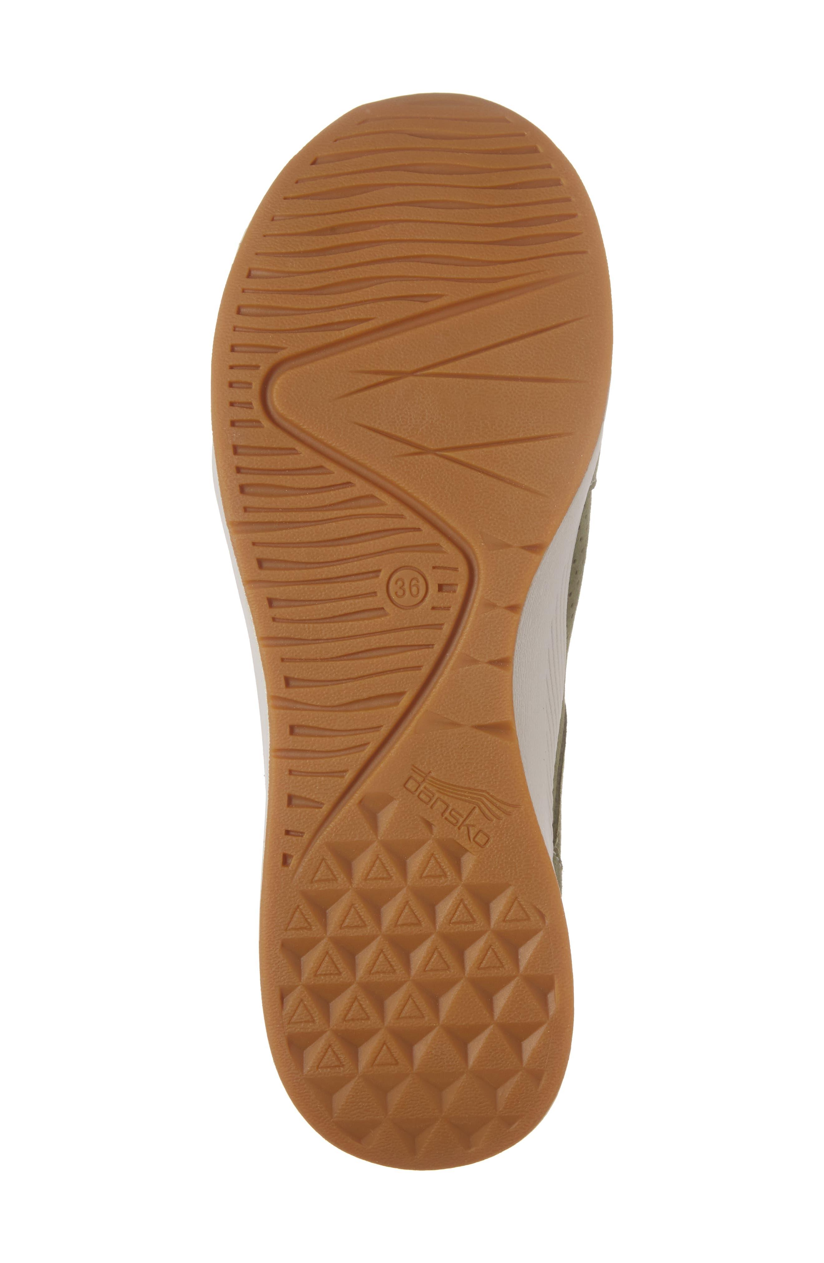 Cozette Slip-On Sneaker,                             Alternate thumbnail 6, color,                             Sage Suede