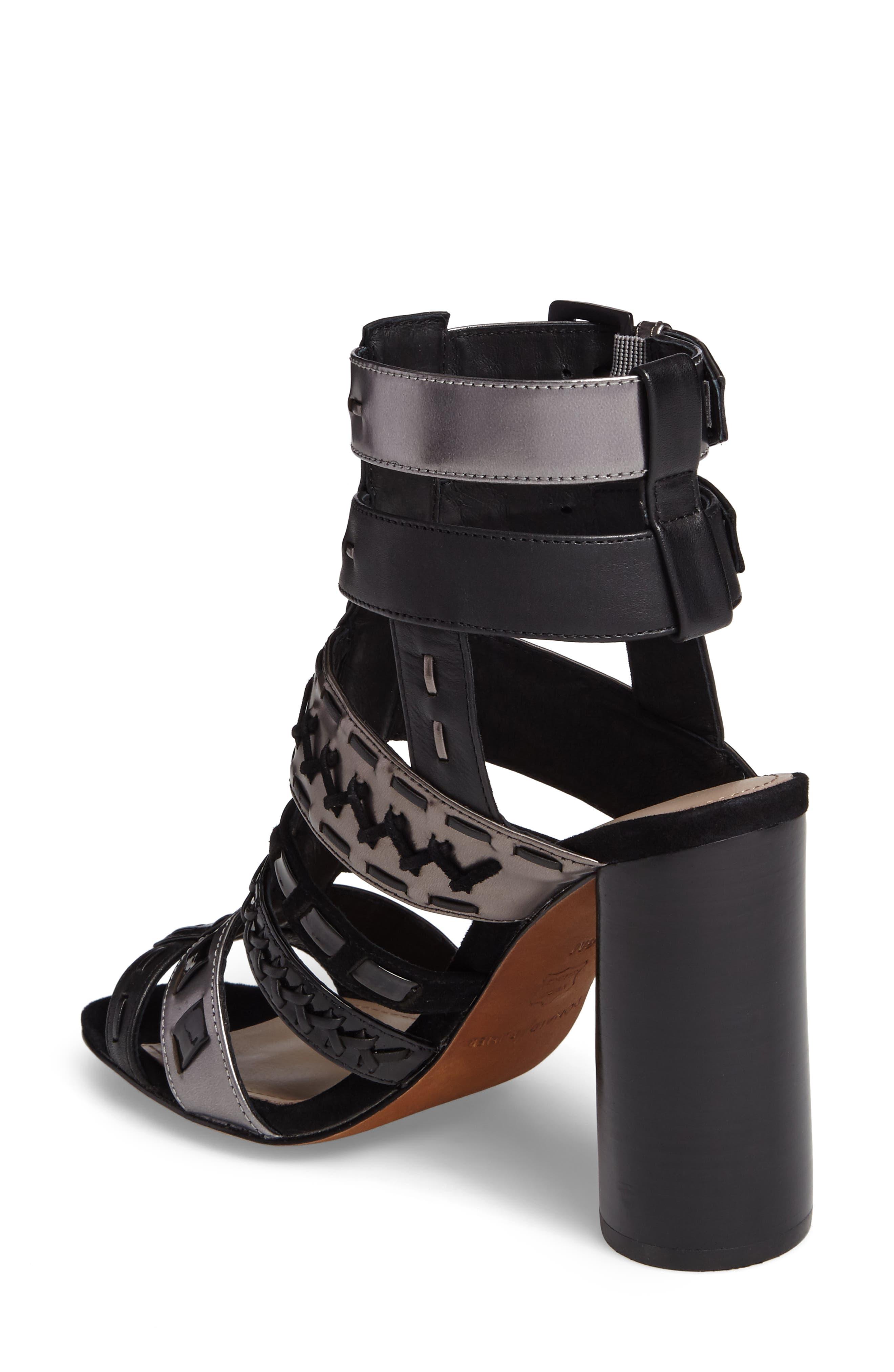 Alternate Image 2  - Donald J Pliner Bindy Column Heel Cage Sandal (Women)