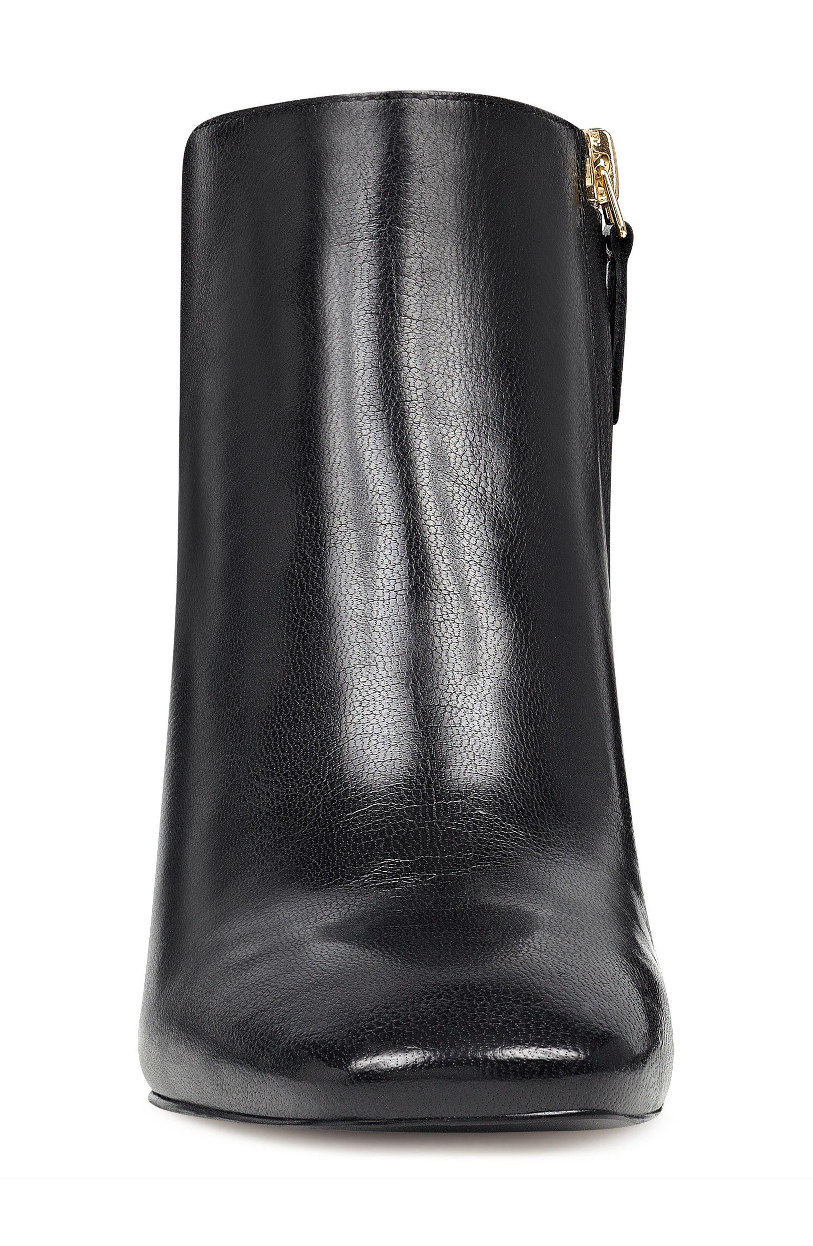 Xtravert Bootie,                             Alternate thumbnail 4, color,                             Black Leather