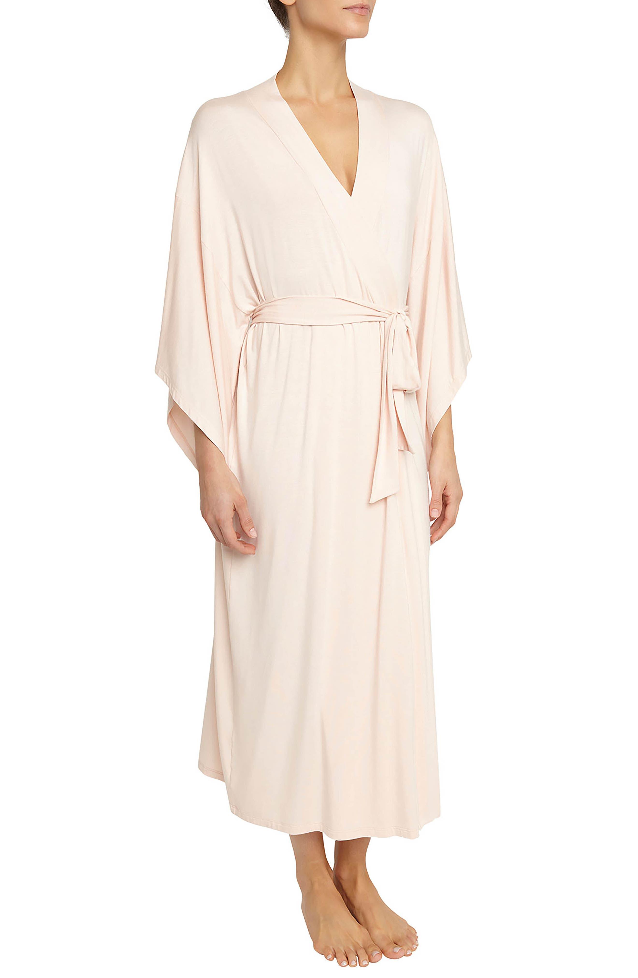 Eberjey 'Colette' Kimono Sleeve Long Robe