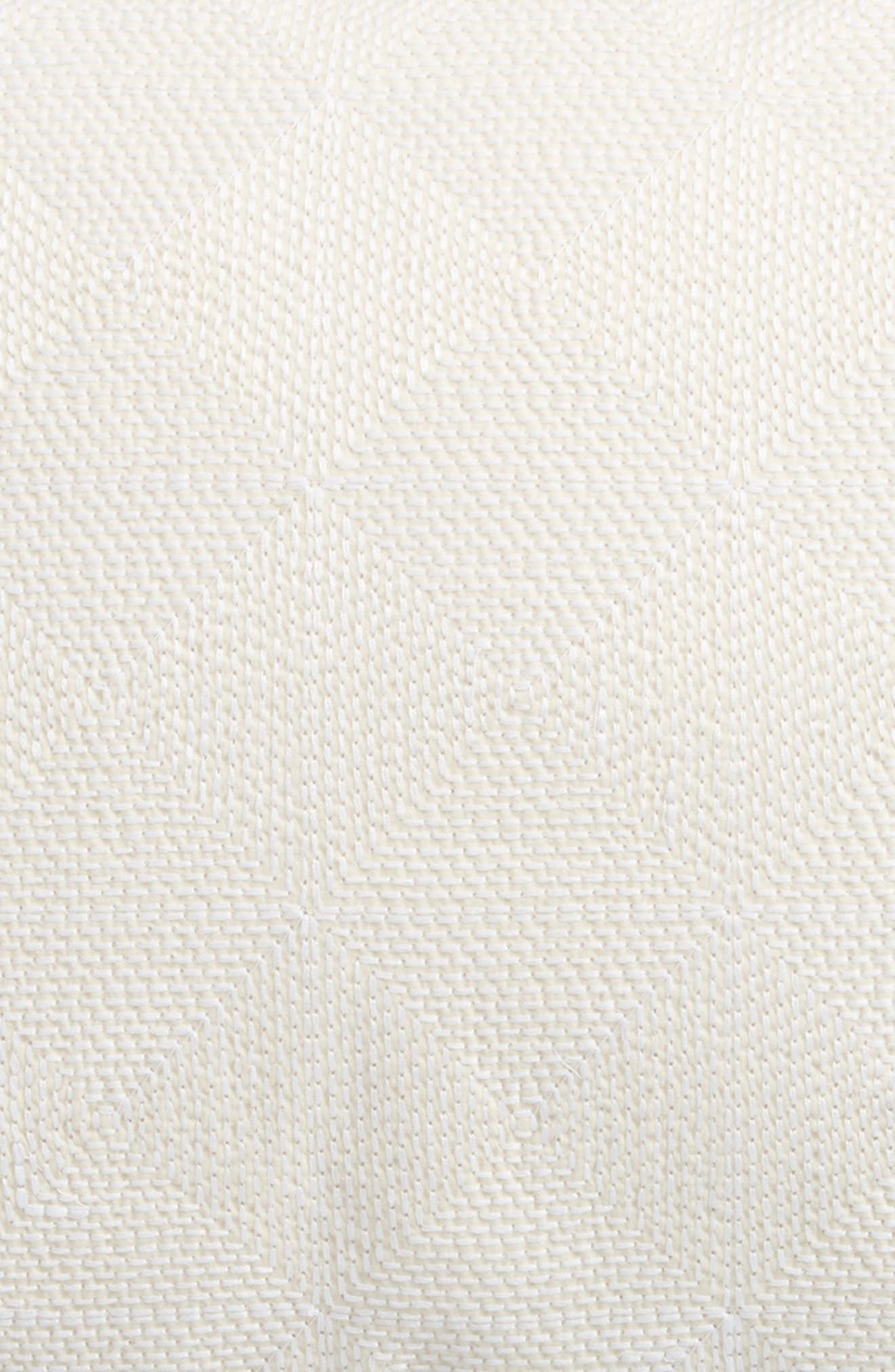 Alternate Image 3  - Vera Wang Fretwork Breakfast Pillow