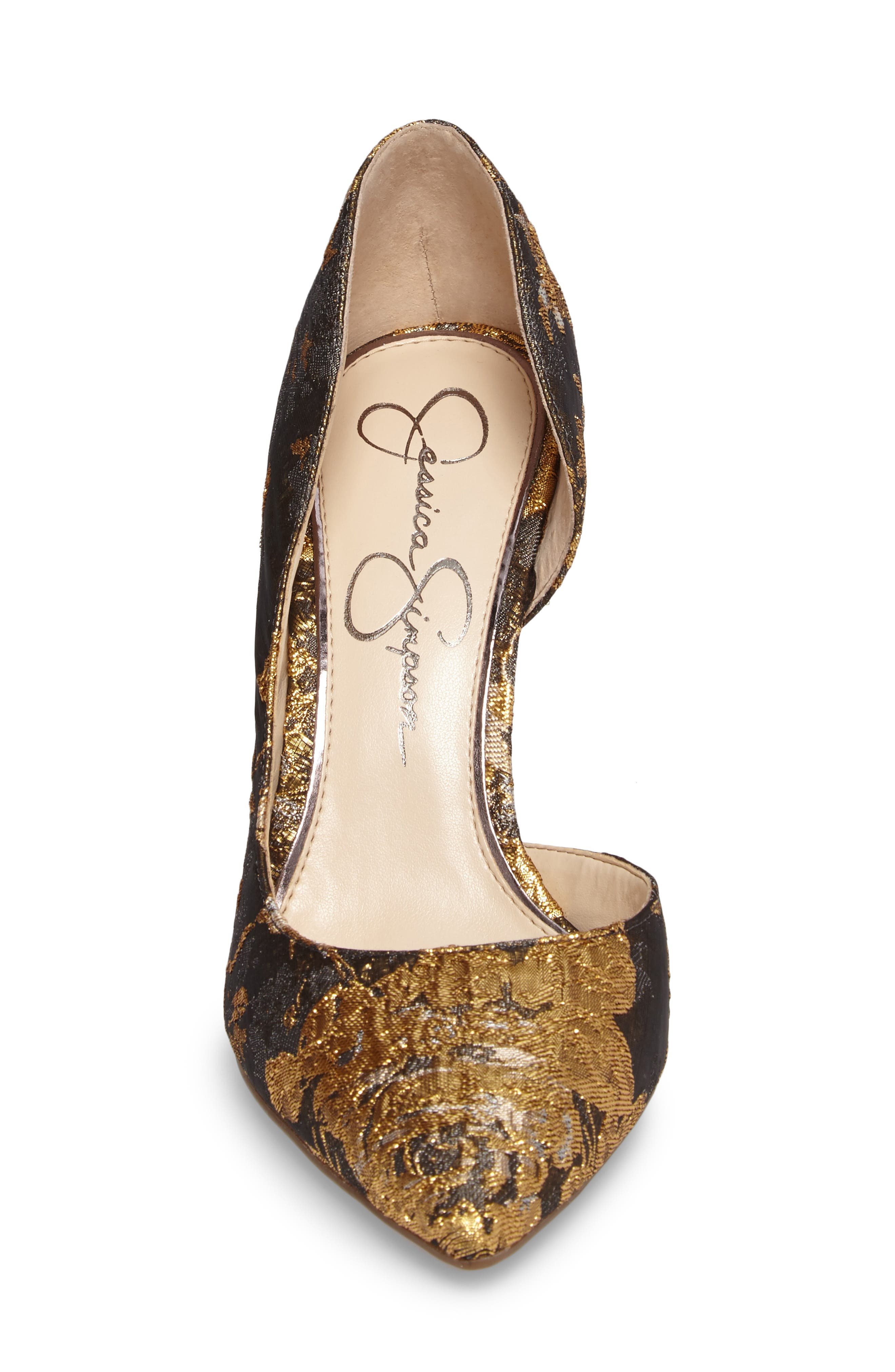 Alternate Image 4  - Jessica Simpson Lucina Pump (Women)