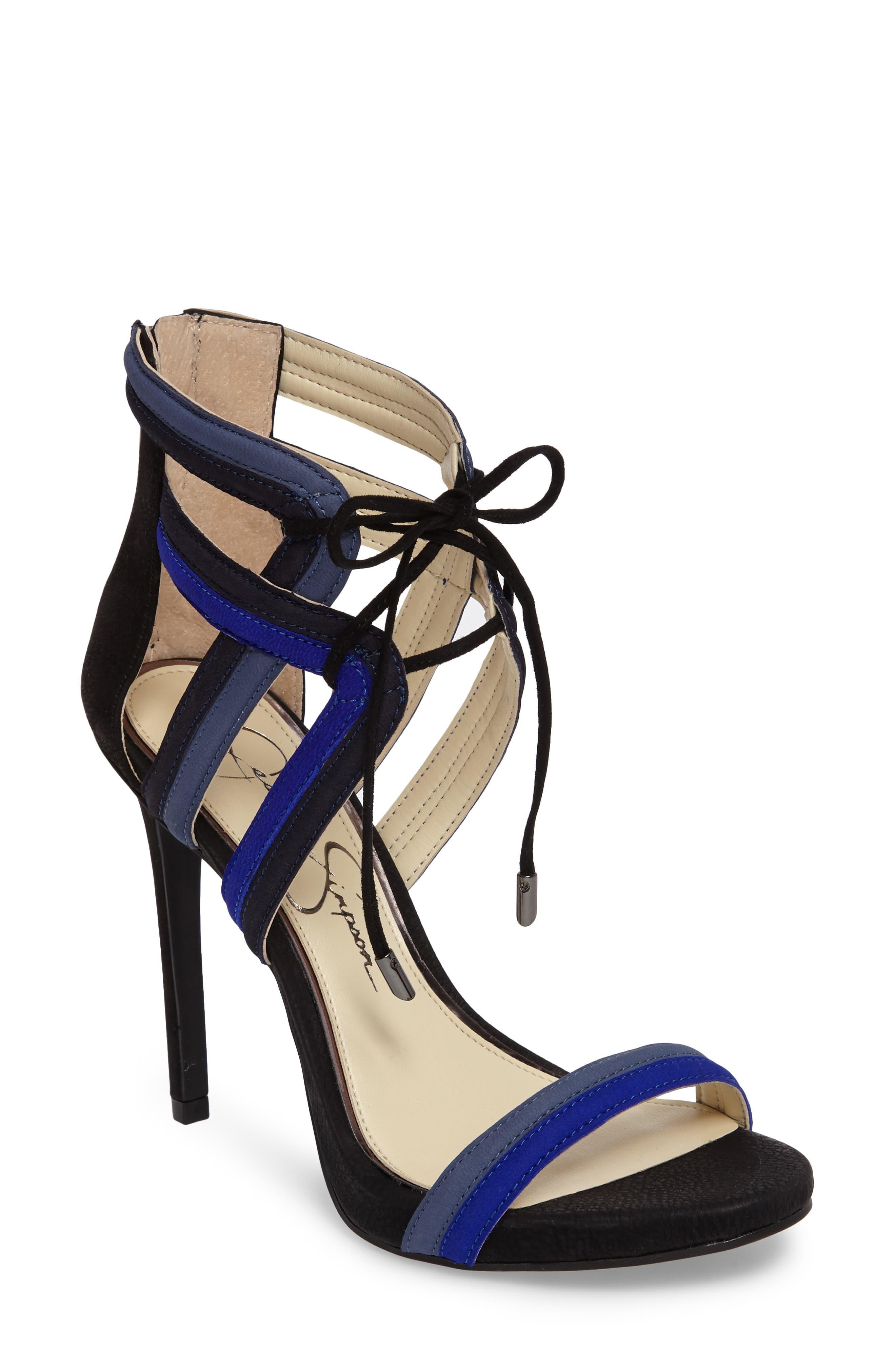 Rensa Sandal,                         Main,                         color, Blue Violet