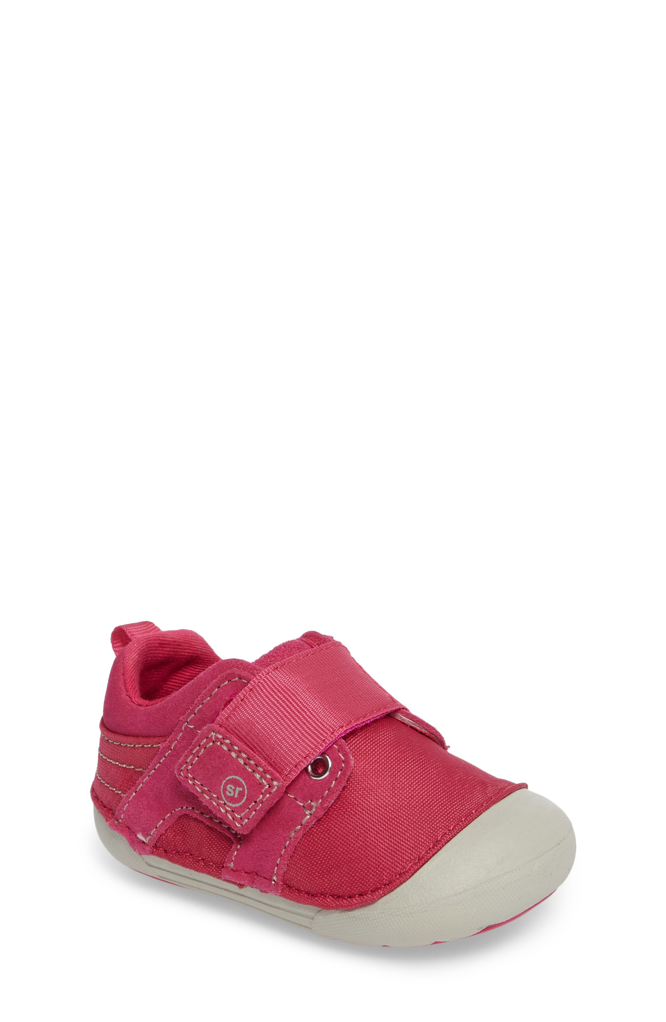 Alternate Image 1 Selected - Stride Rite Soft Motion™ Cameron Sneaker (Baby & Walker)