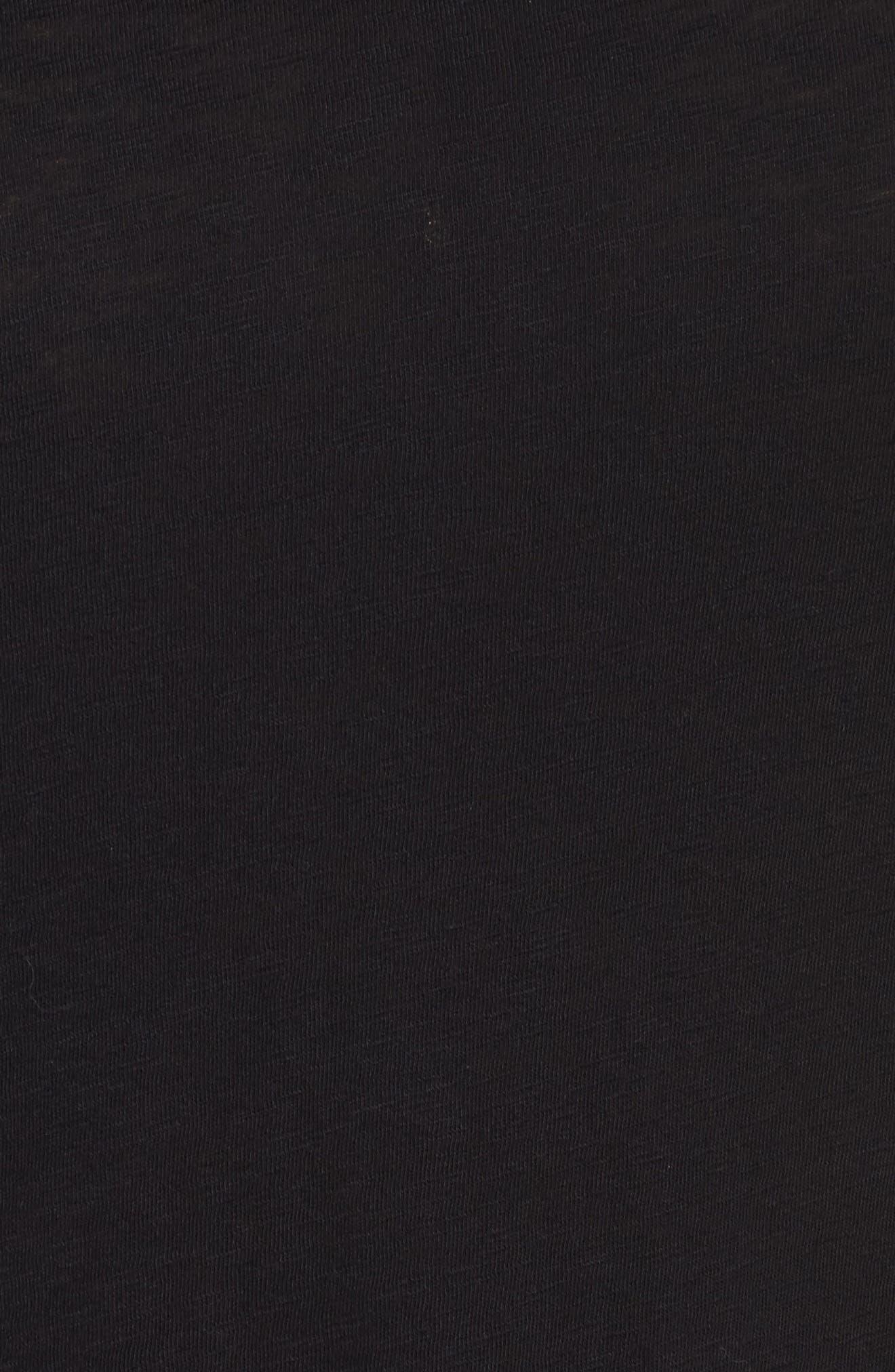 Long Sleeve Crewneck Tee,                             Alternate thumbnail 33, color,                             Black