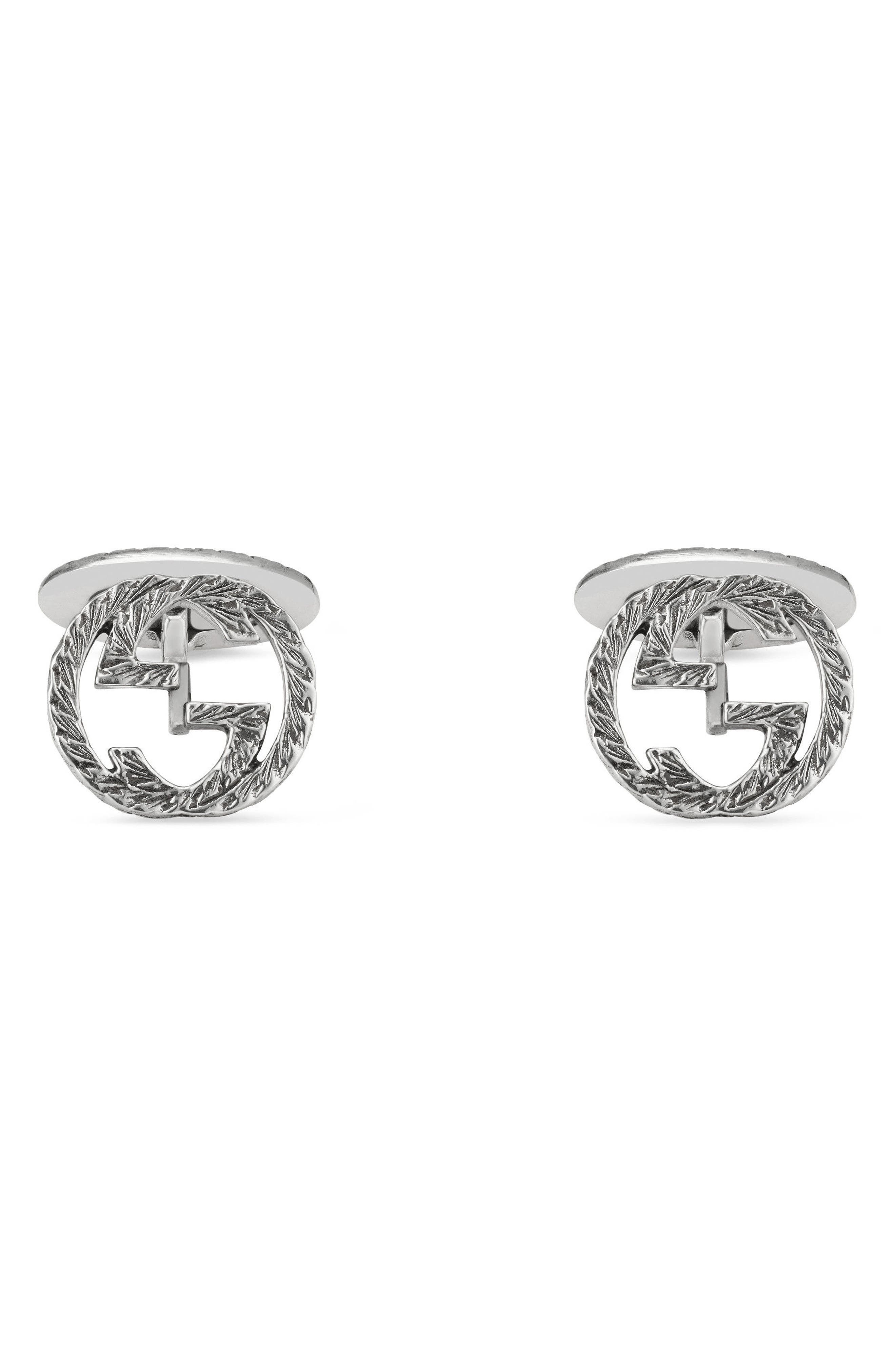 Gucci Interlocking G Cuff Links