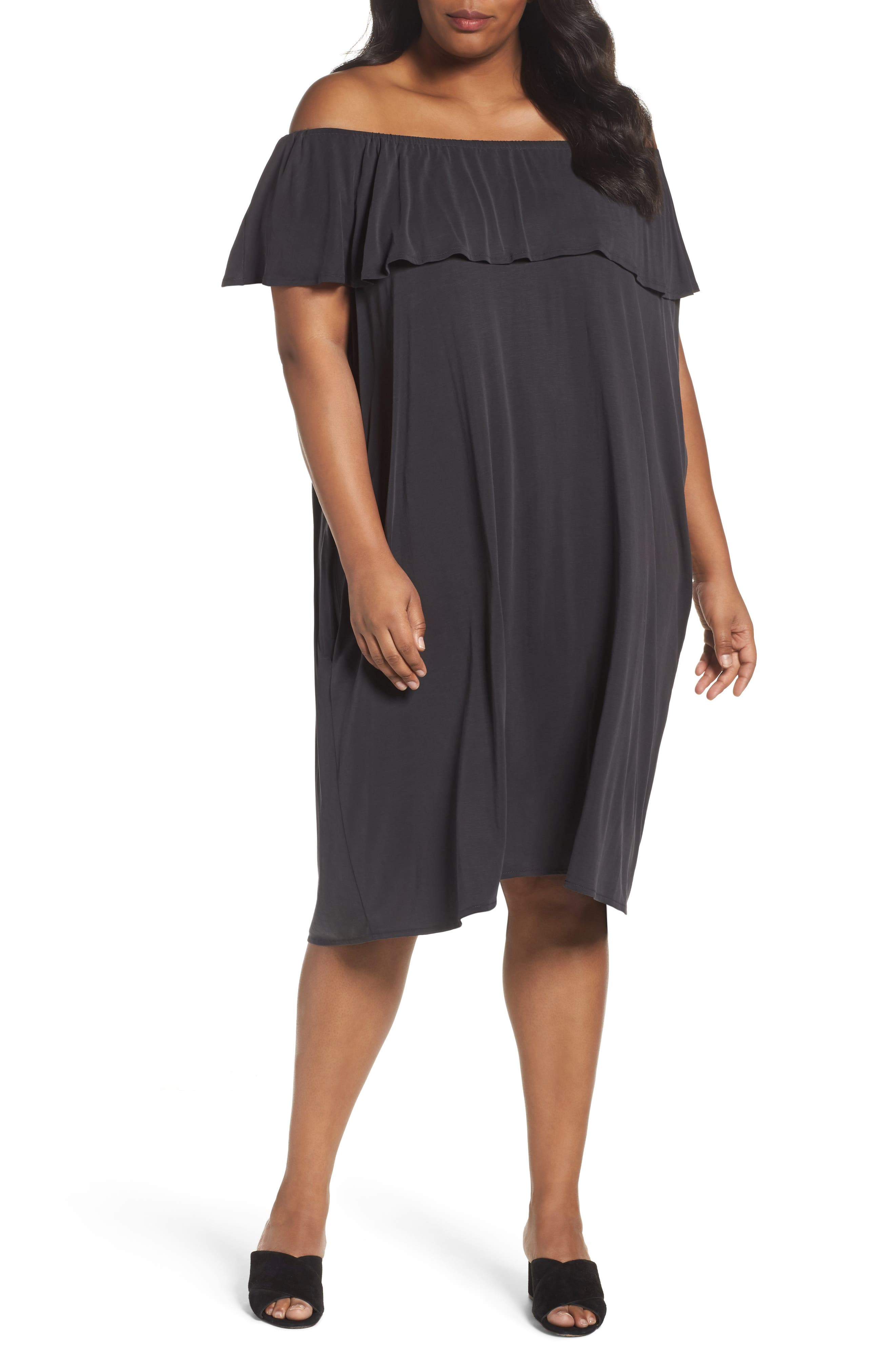 NIC+ZOE Boardwalk Convertible Jersey Dress