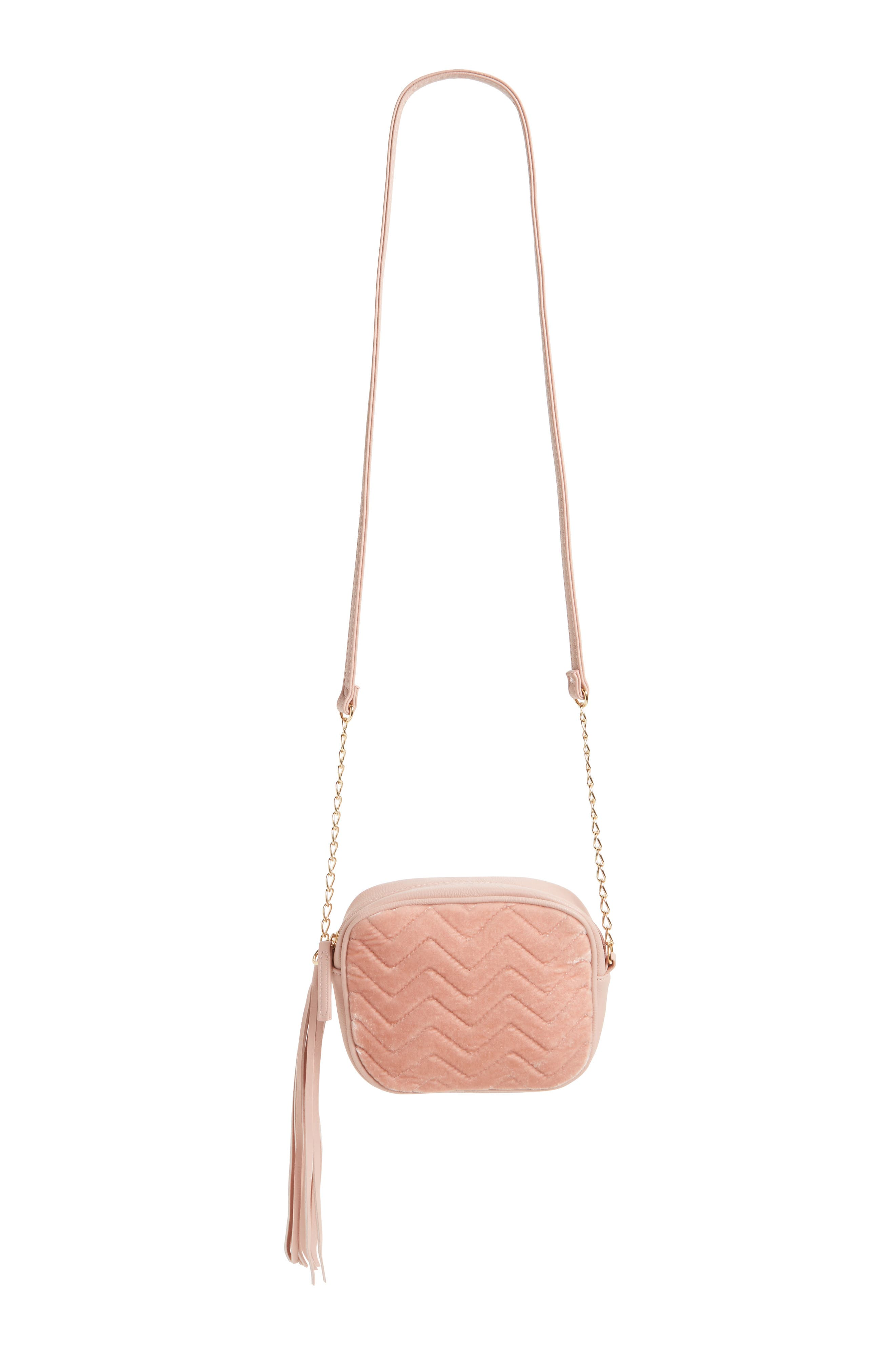 OMG Quilted Crossbody Bag