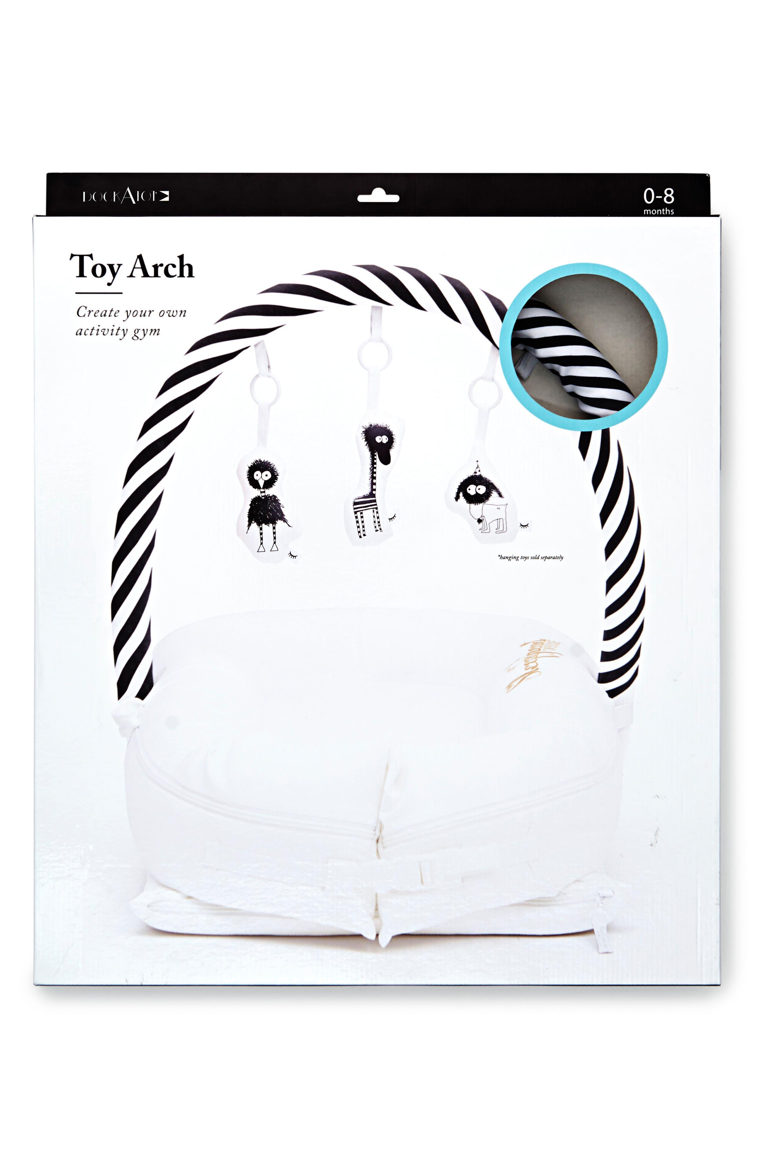 Toy Arch,                             Alternate thumbnail 4, color,                             Black/ White