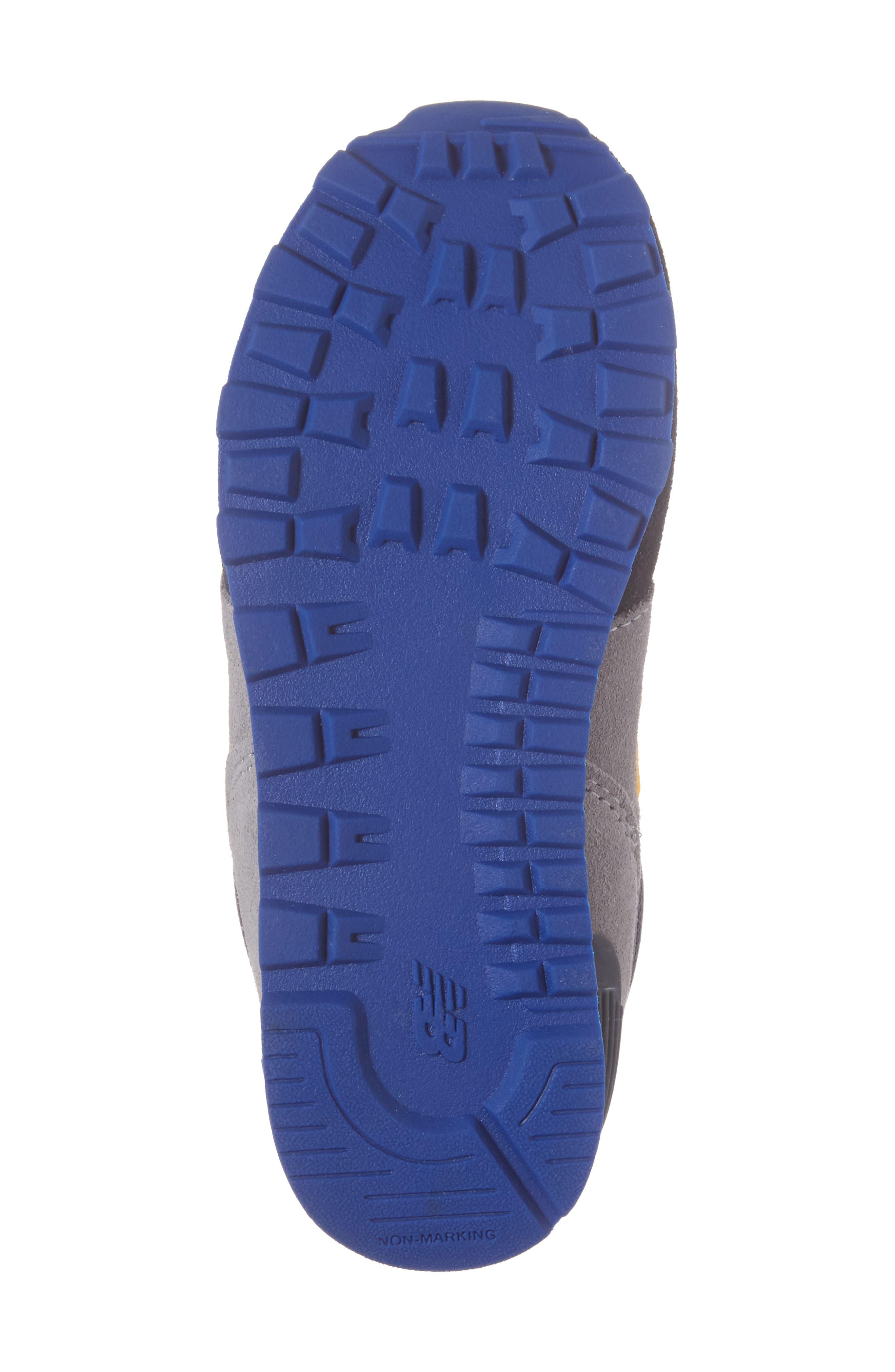 Alternate Image 6  - New Balance 574 Cut & Paste Sneaker (Baby, Walker & Toddler)