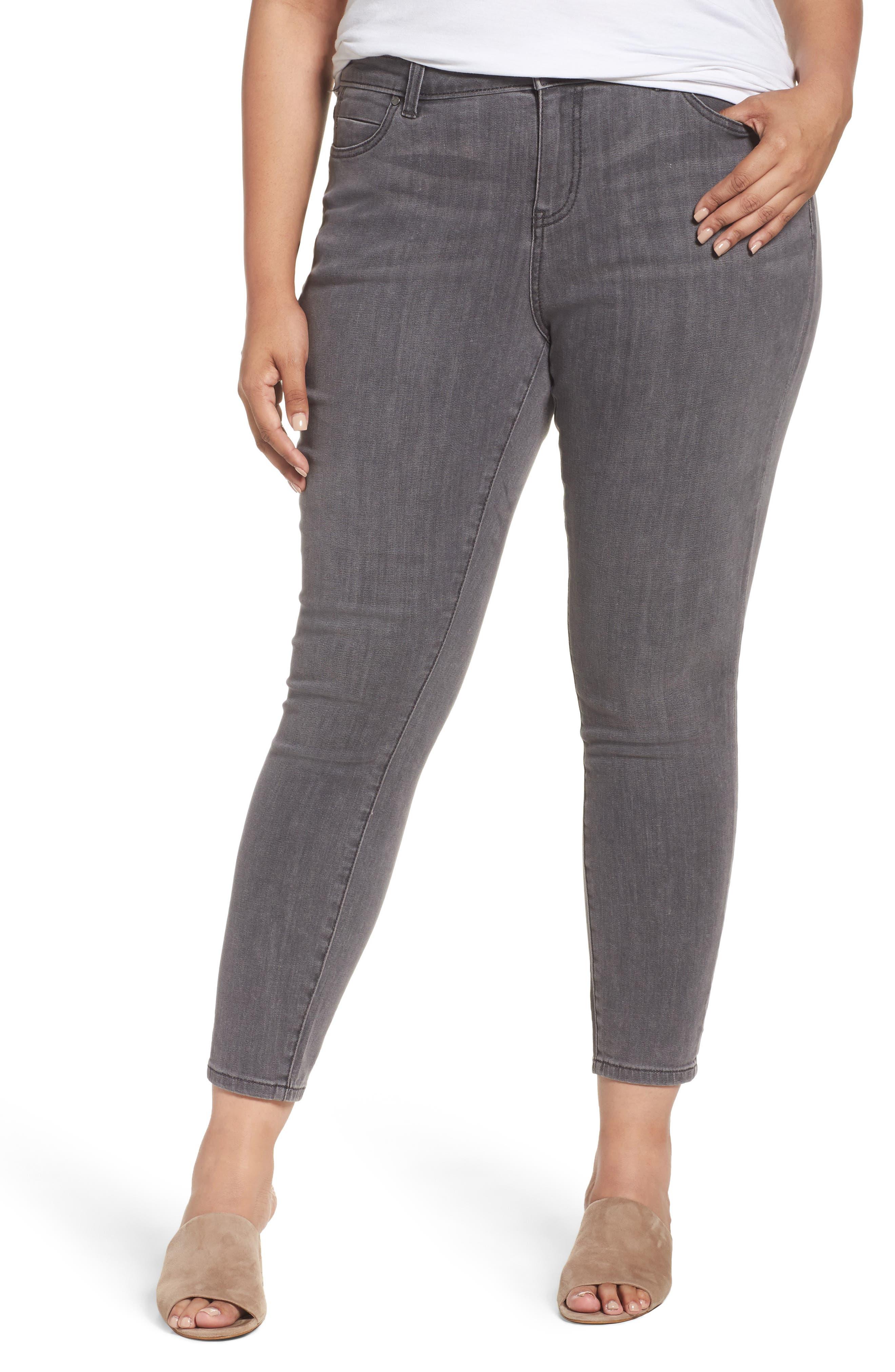 Caslon® Stretch Skinny Jeans (Plus Size)