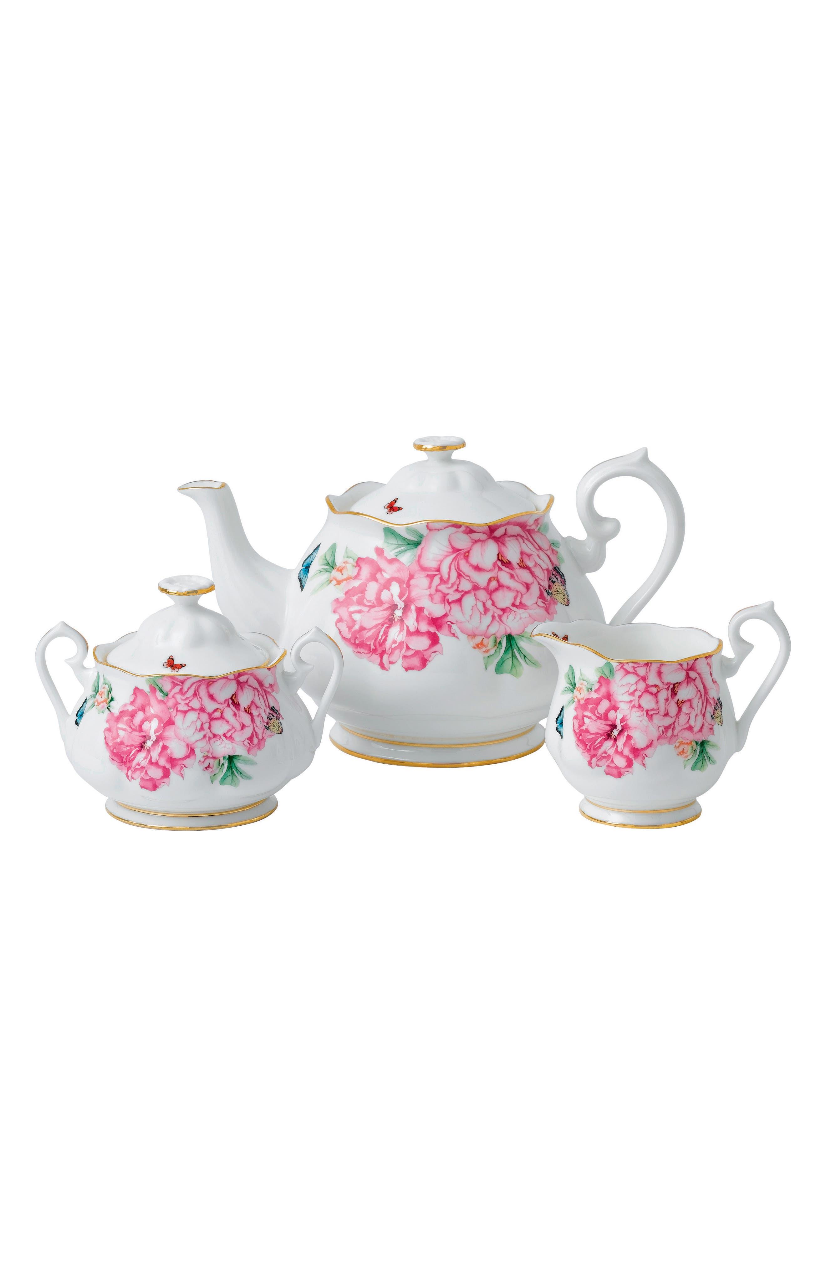 Main Image - Miranda Kerr for Royal Albert Friendship 3-Piece Tea Set