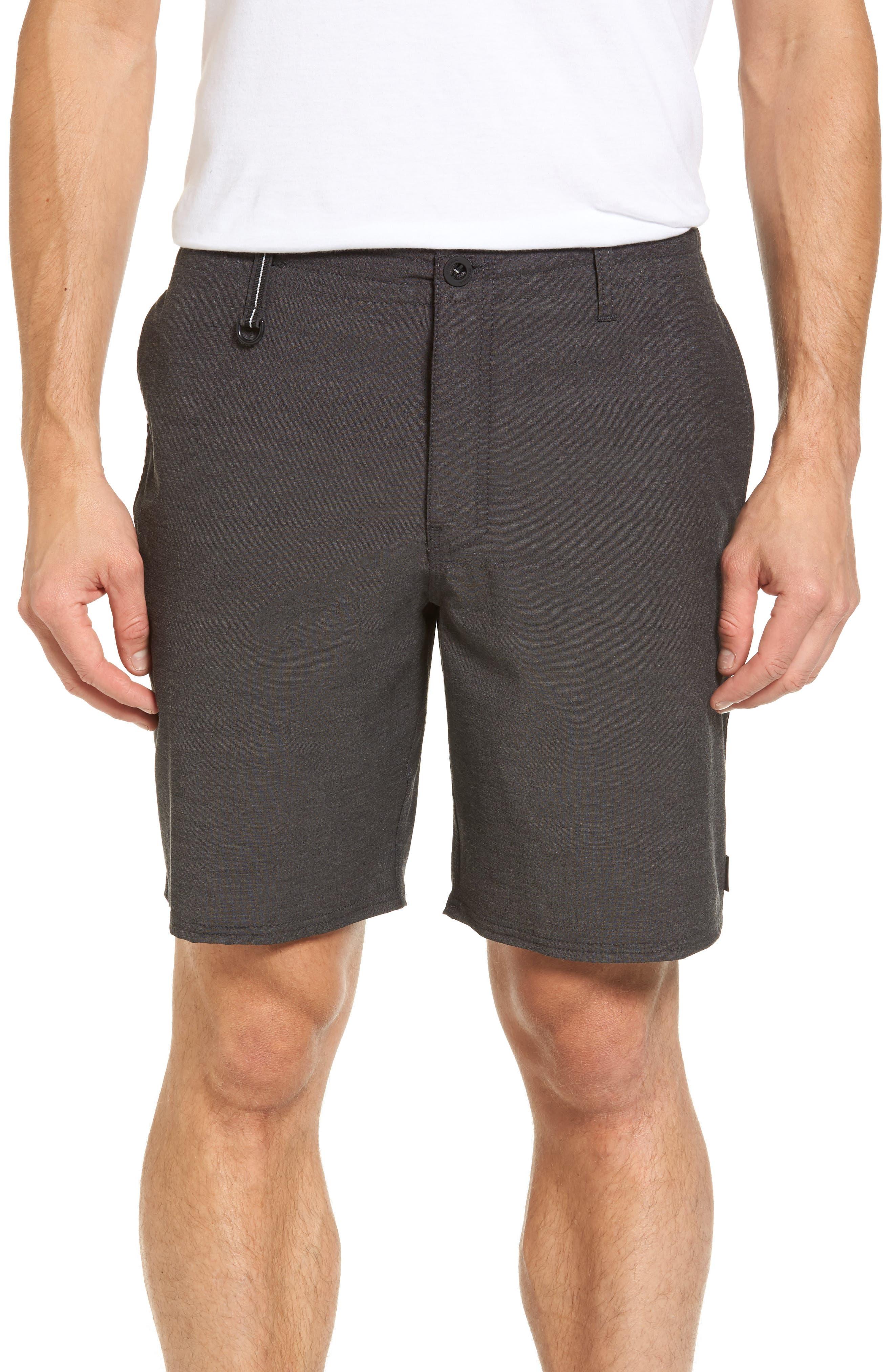 Traveler Recon Hybrid Shorts,                             Main thumbnail 1, color,                             Black
