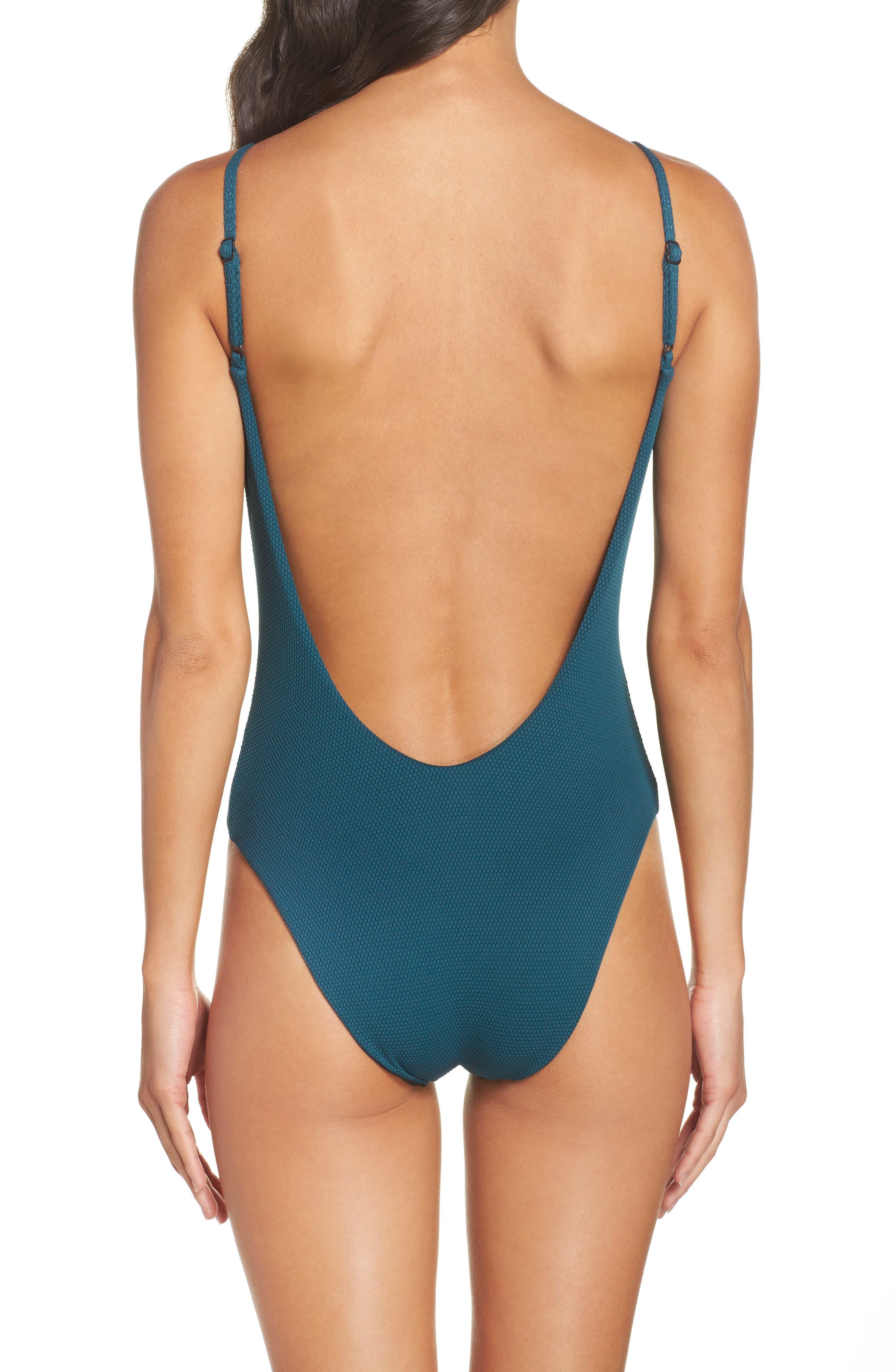 Alternate Image 2  - Leith One-Piece Swimsuit