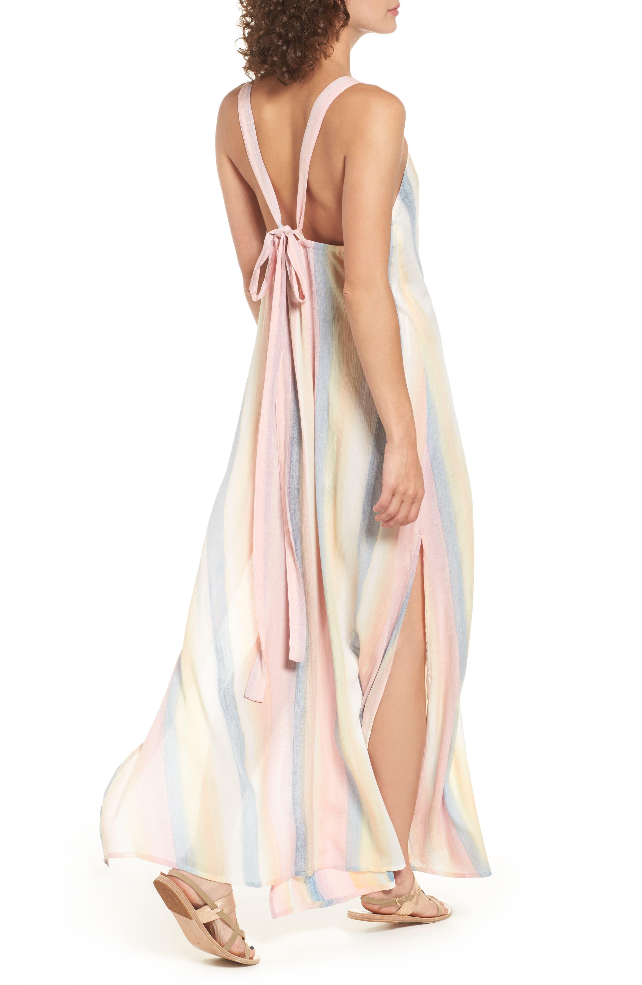 Alternate Image 4  - Billabong Sky High Maxi Dress