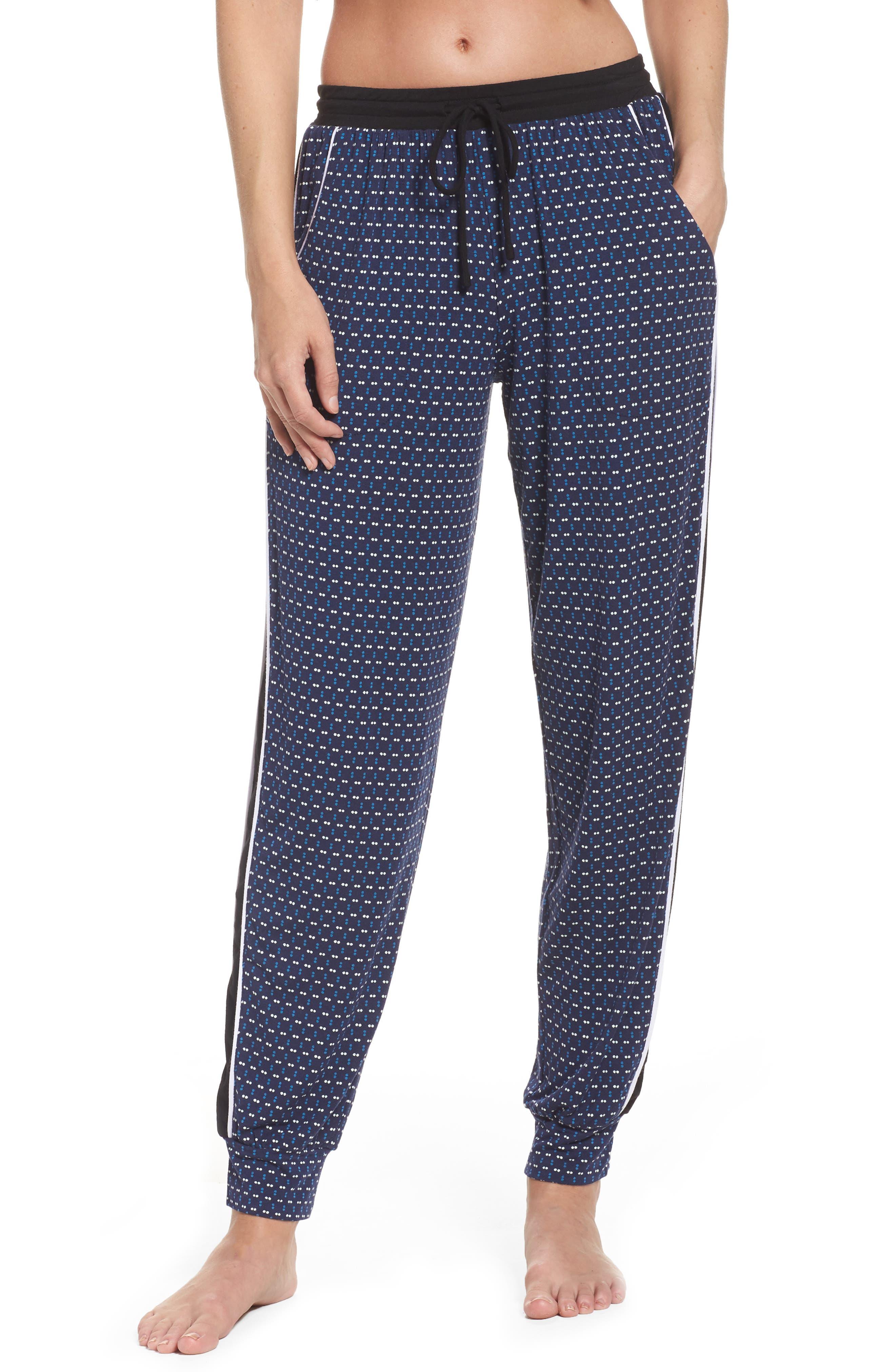 Sleep Jogger Pants,                         Main,                         color, Ink Dot Geo