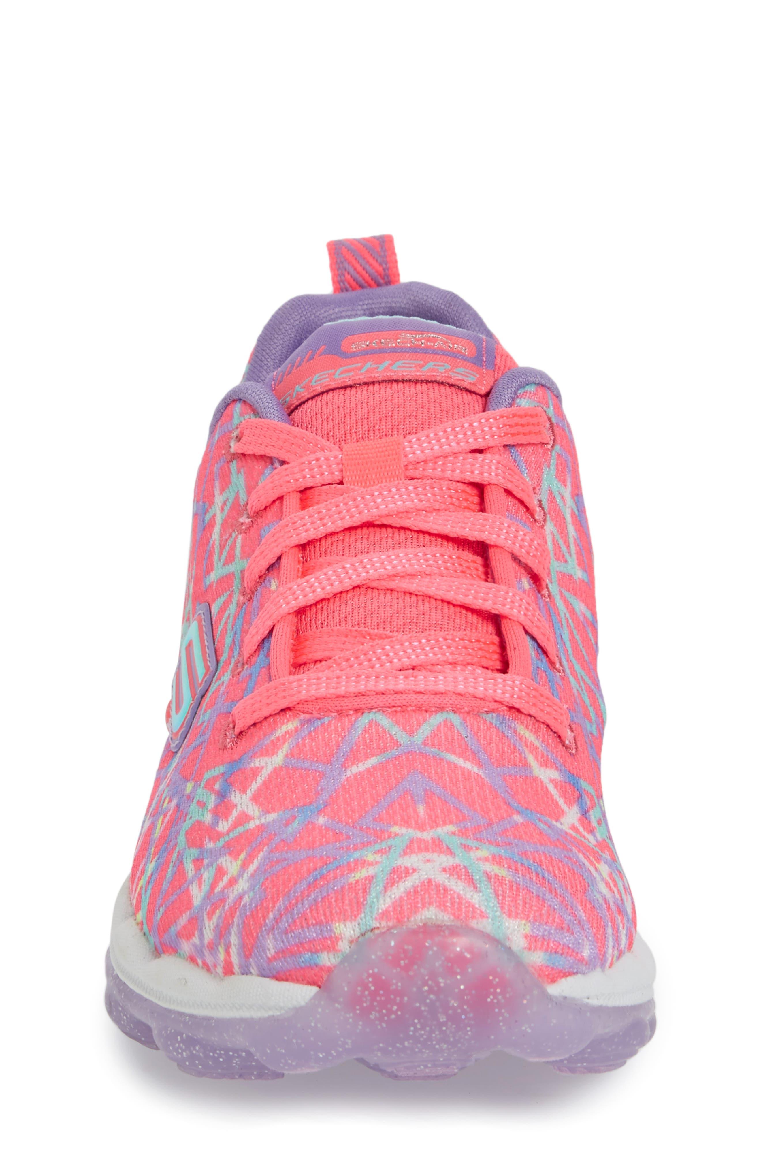 Skech-Air Sneaker,                             Alternate thumbnail 4, color,                             Pink