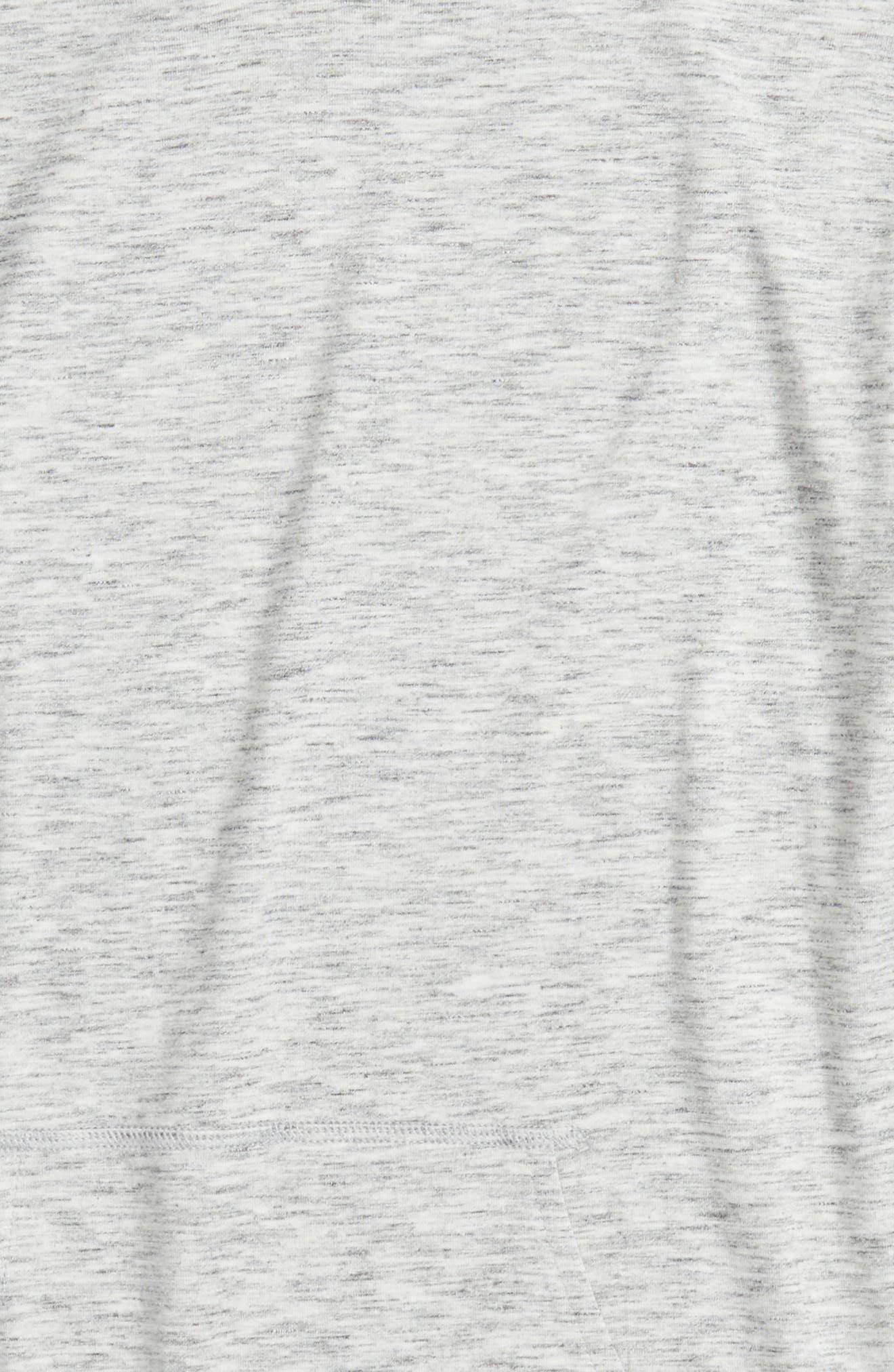 Drapey Pullover Hoodie,                             Alternate thumbnail 2, color,                             Grey Vapor