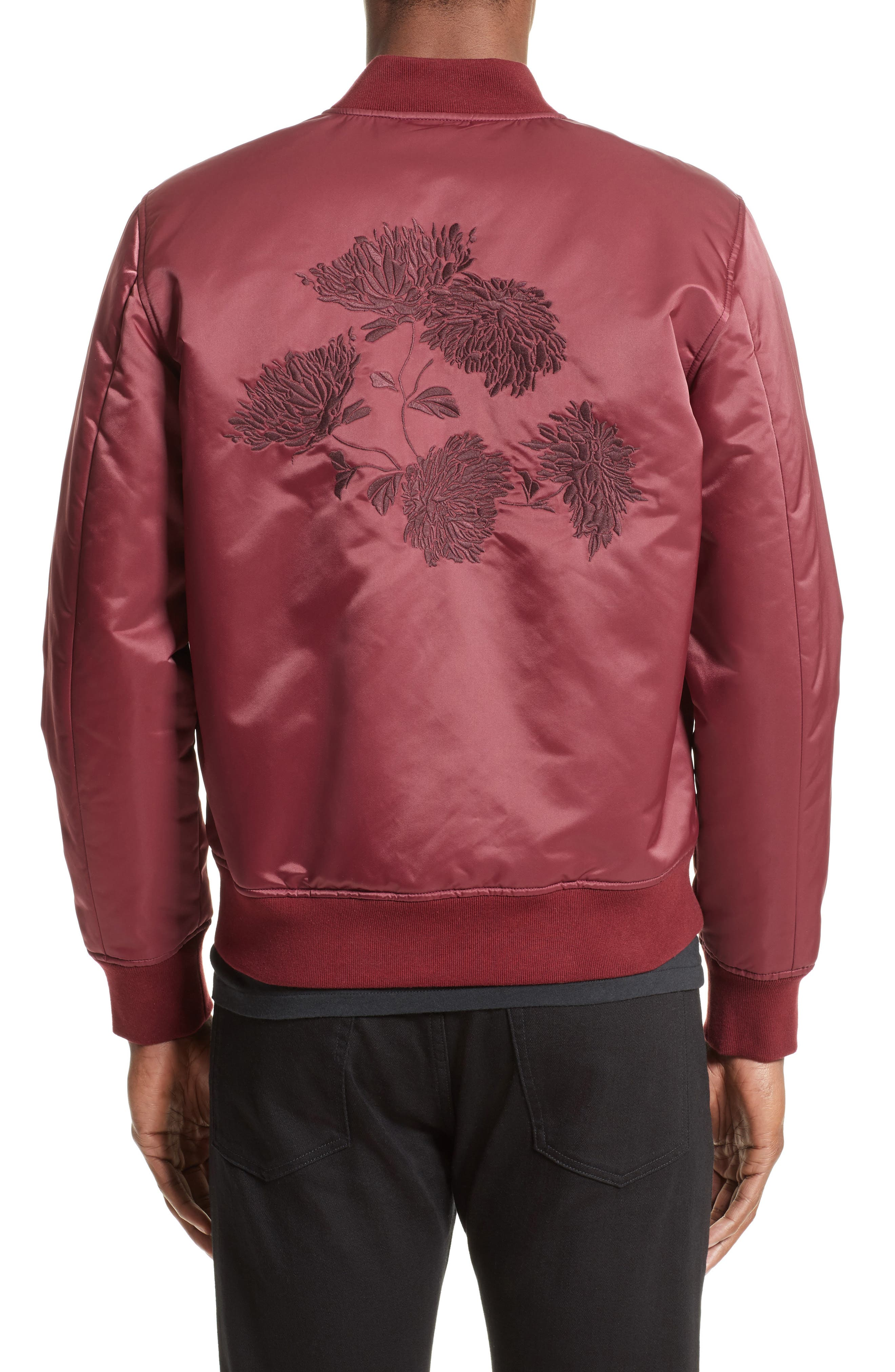 Alternate Image 2  - Levi's® Made & Crafted™ Embroidered Souvenir Bomber Jacket