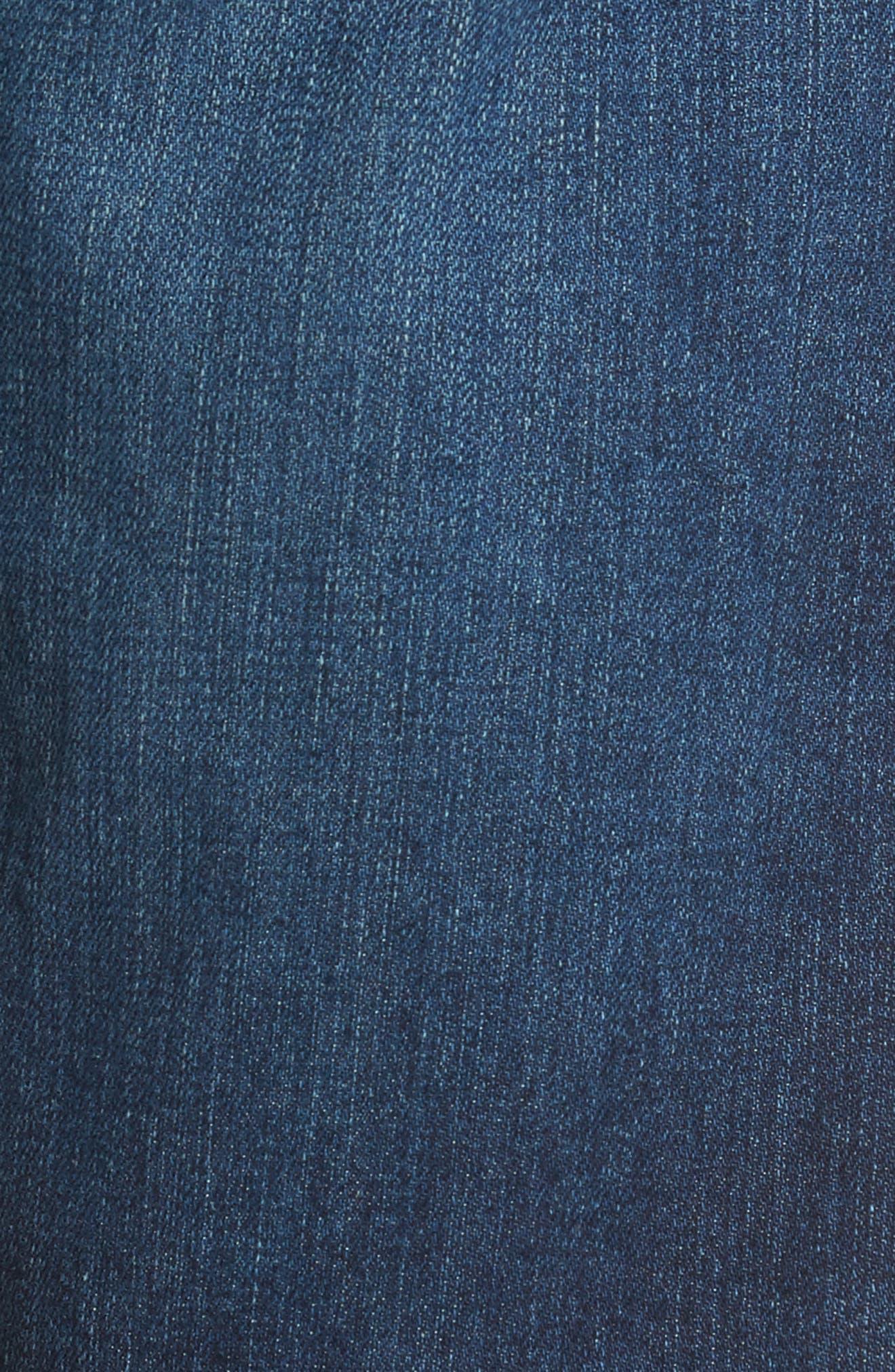 Alternate Image 5  - AG Ives Straight Leg Jeans (9 Years Hammer)