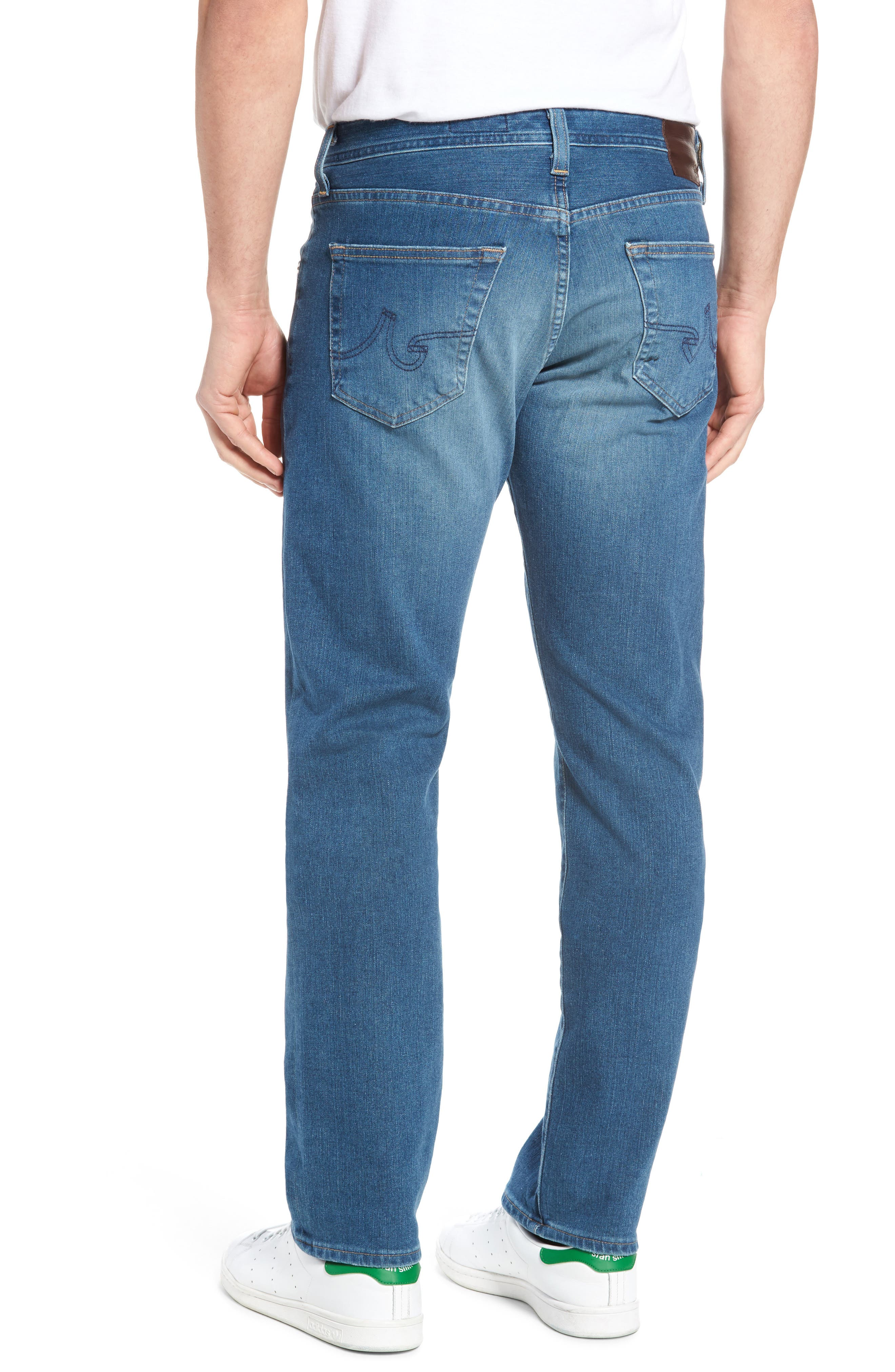 Graduate Slim Straight Fit Jeans,                             Alternate thumbnail 2, color,                             Typewriter