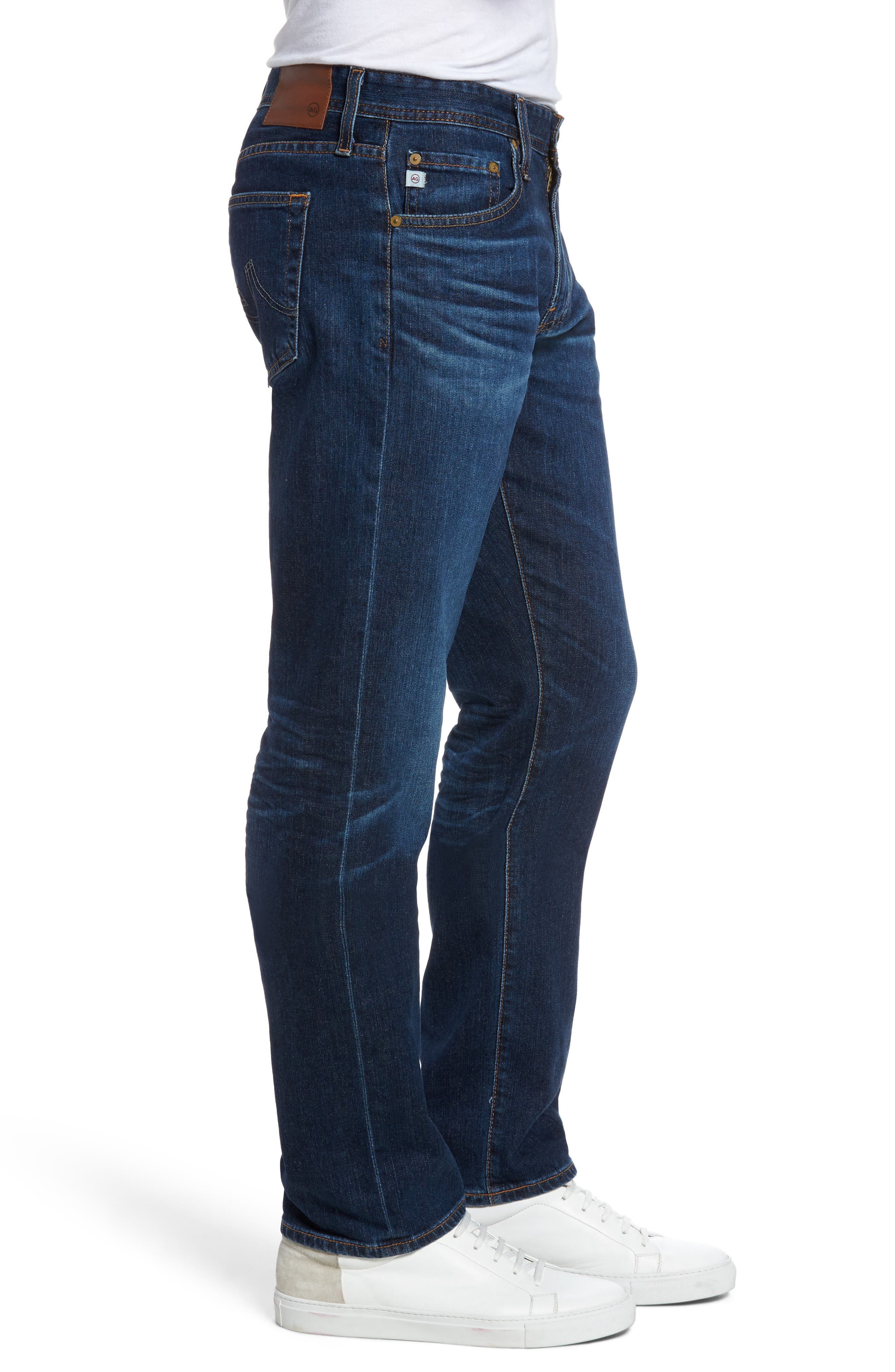 Alternate Image 3  - AG Graduate Slim Straight Fit Jeans (6 Years Projector)