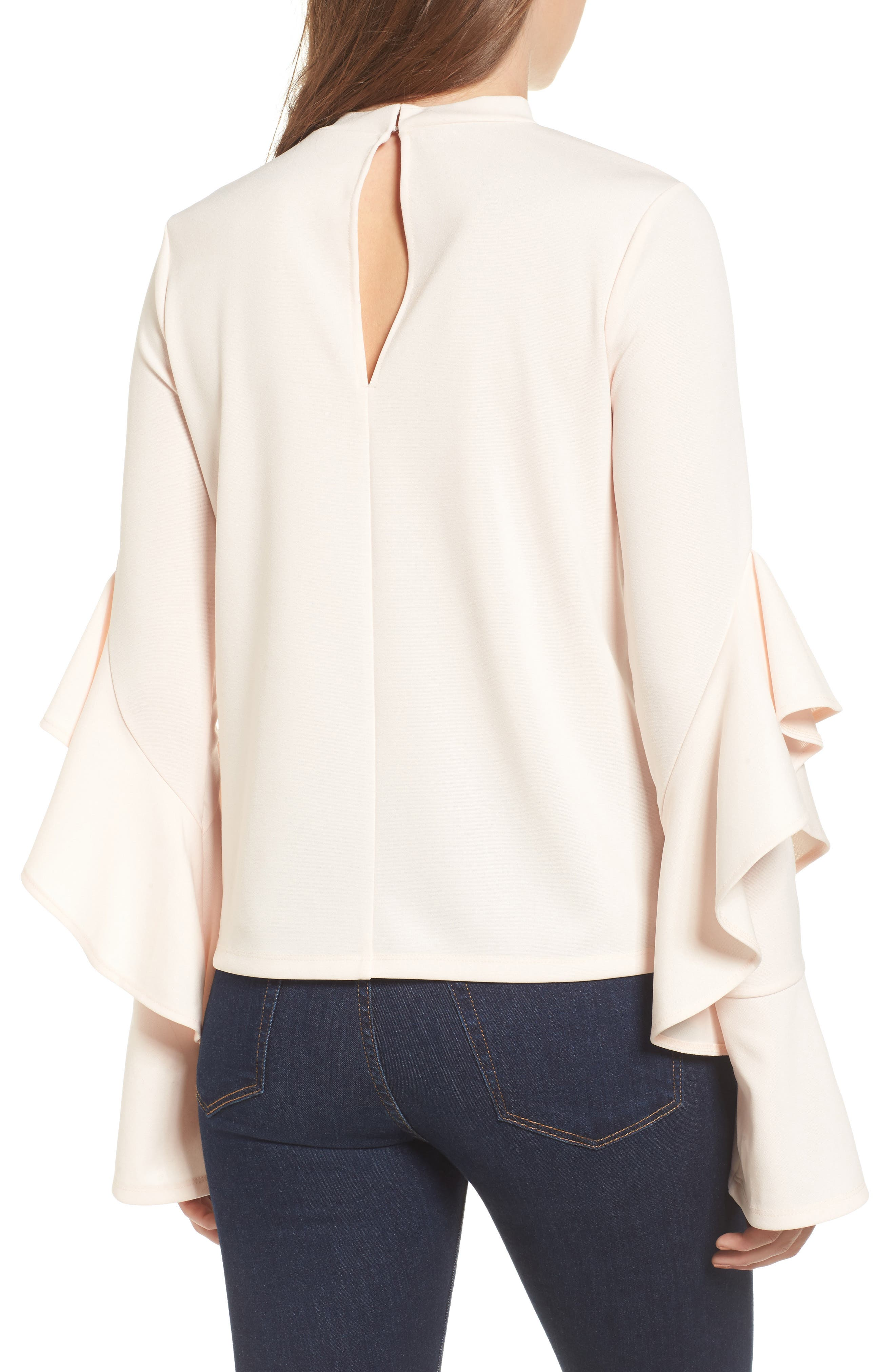 Alternate Image 2  - Leith Ruffle Sleeve Top
