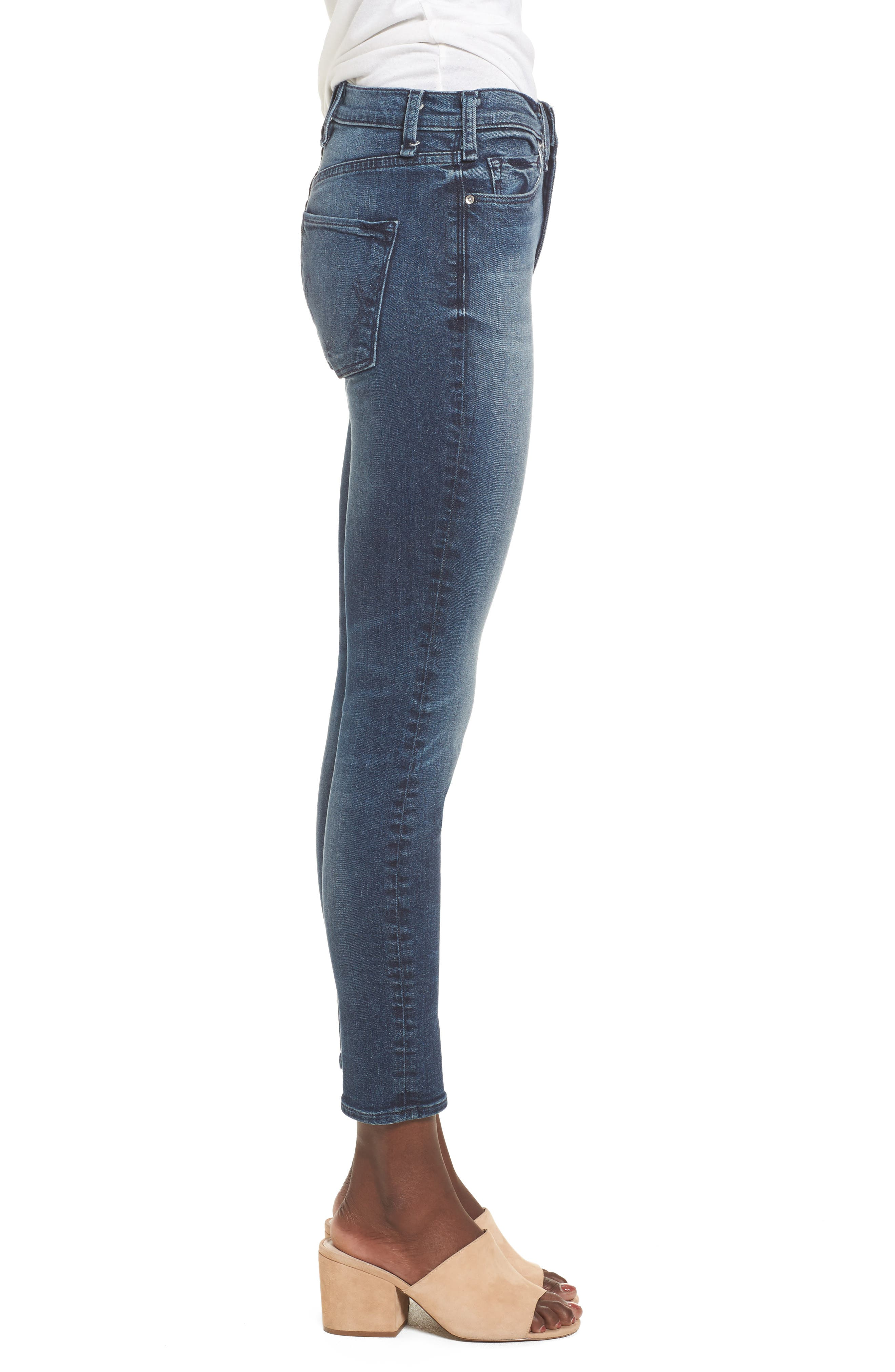 Alternate Image 3  - McGuire Newton High Waist Skinny Jeans (Isle in the Sky)