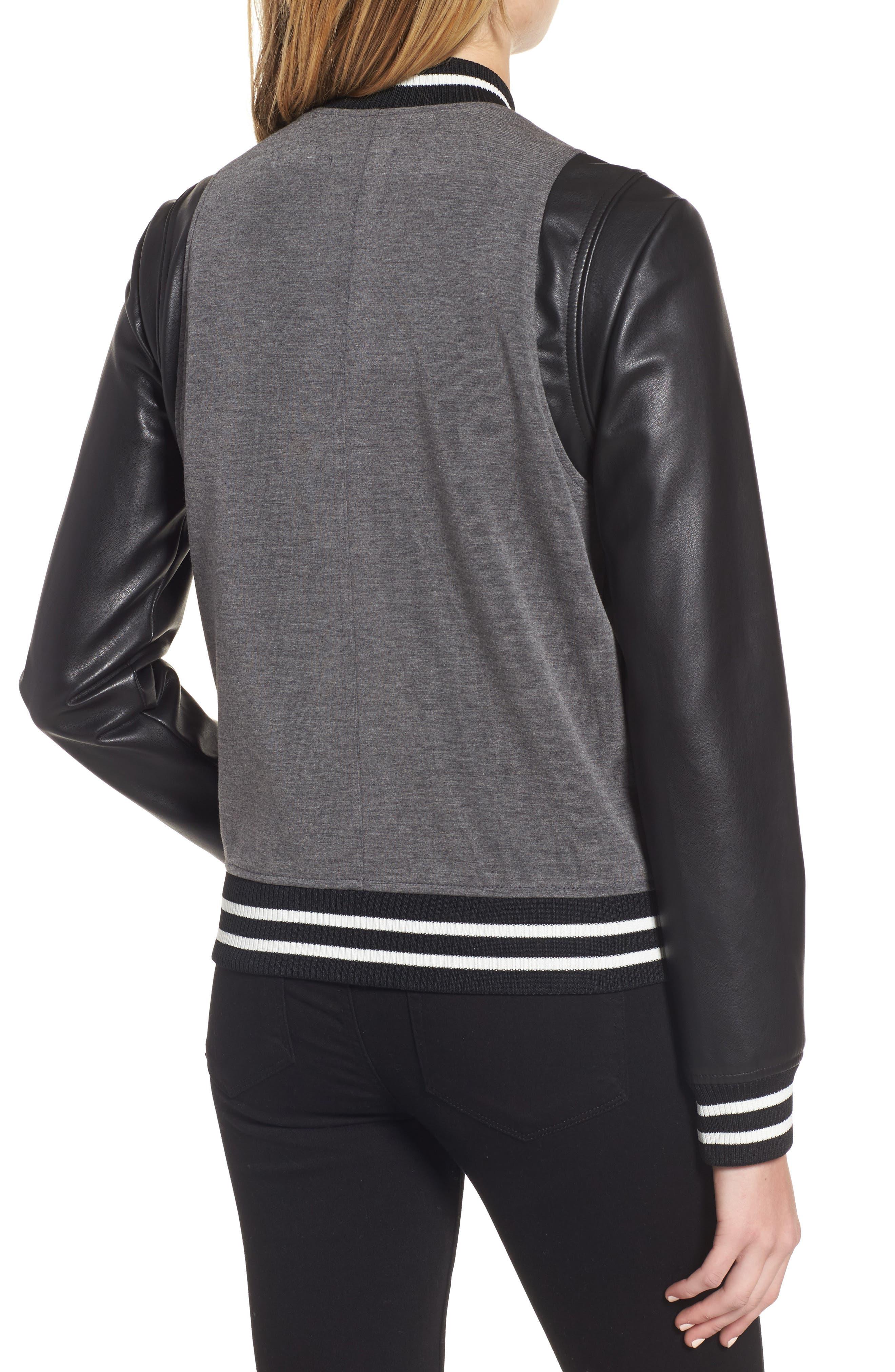 Alternate Image 3  - Trouvé Varsity Jacket