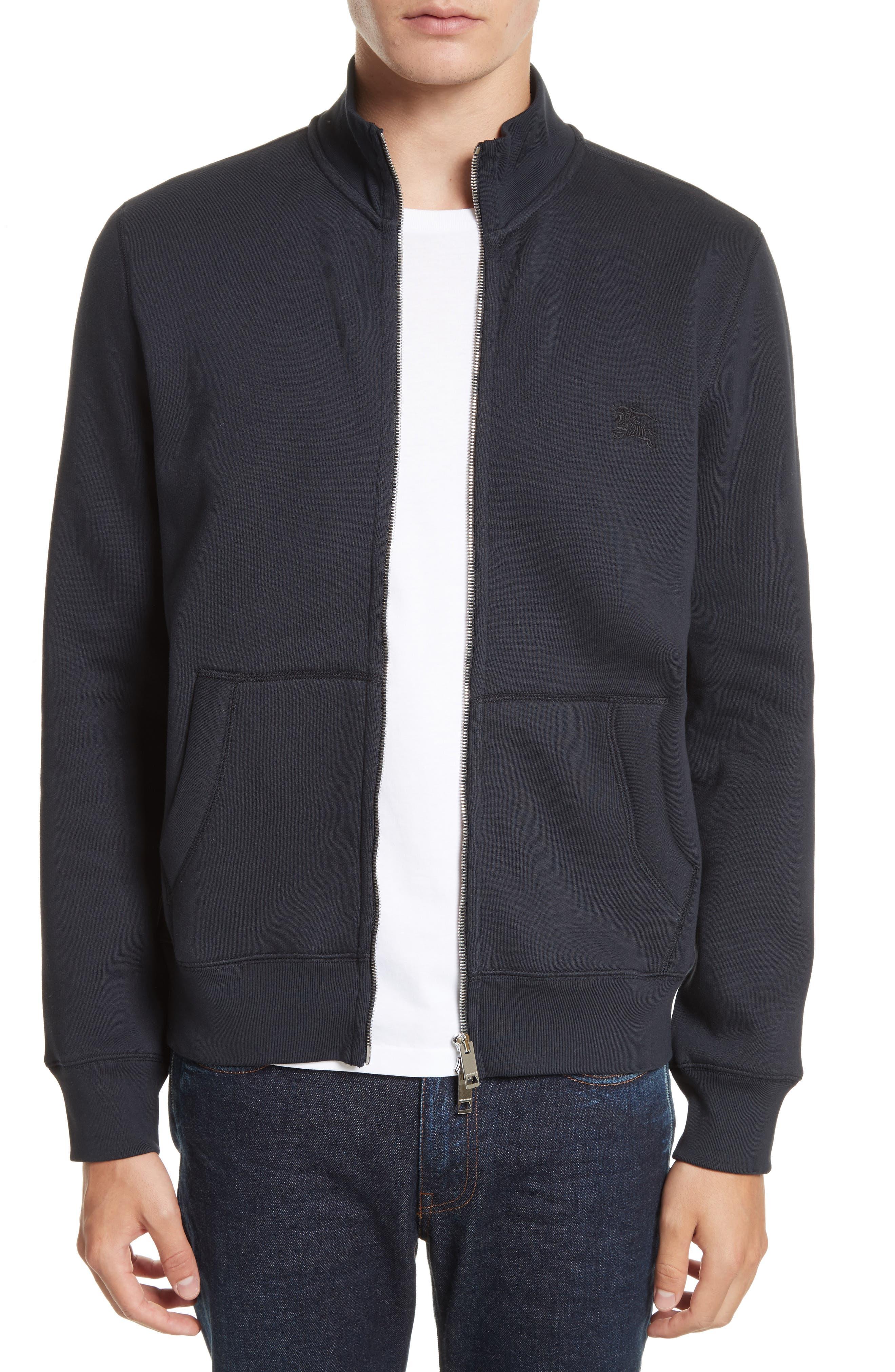Burberry Sheltone Full Zip Fleece Jacket