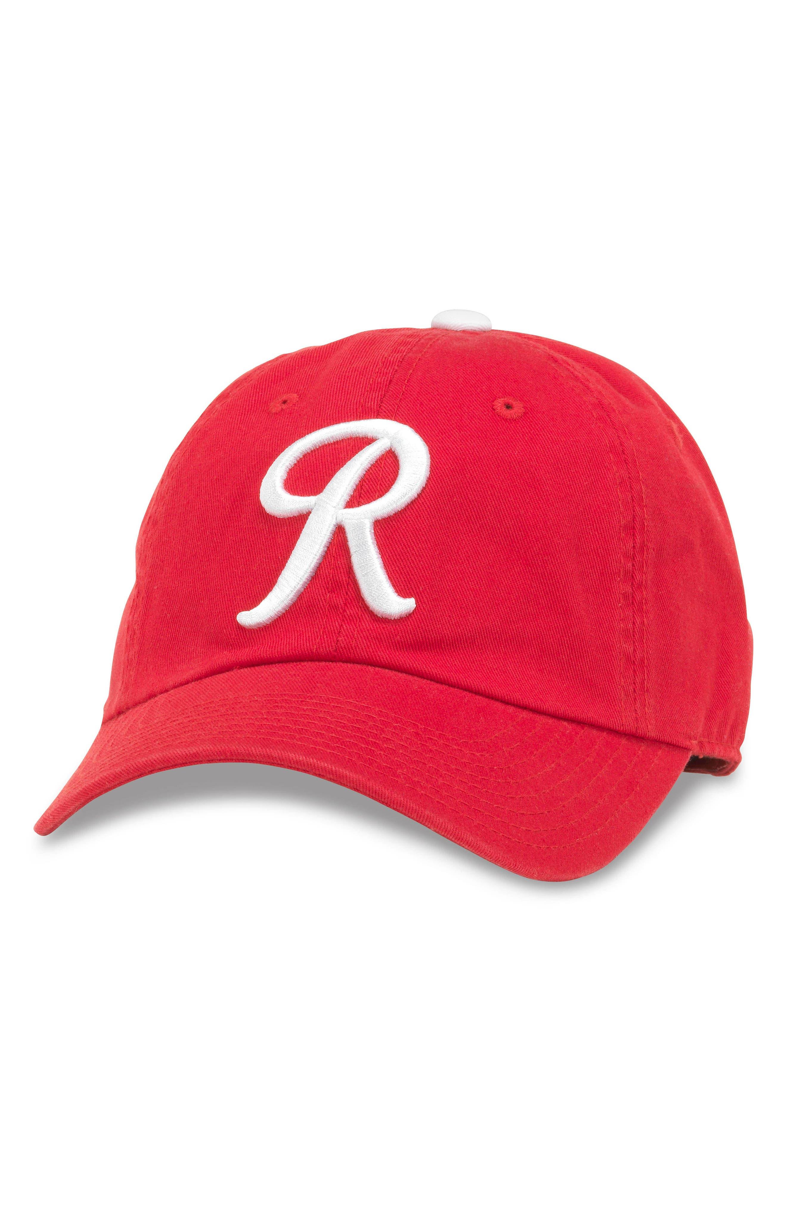Ballpark MLB Baseball Cap,                         Main,                         color, Rainiers