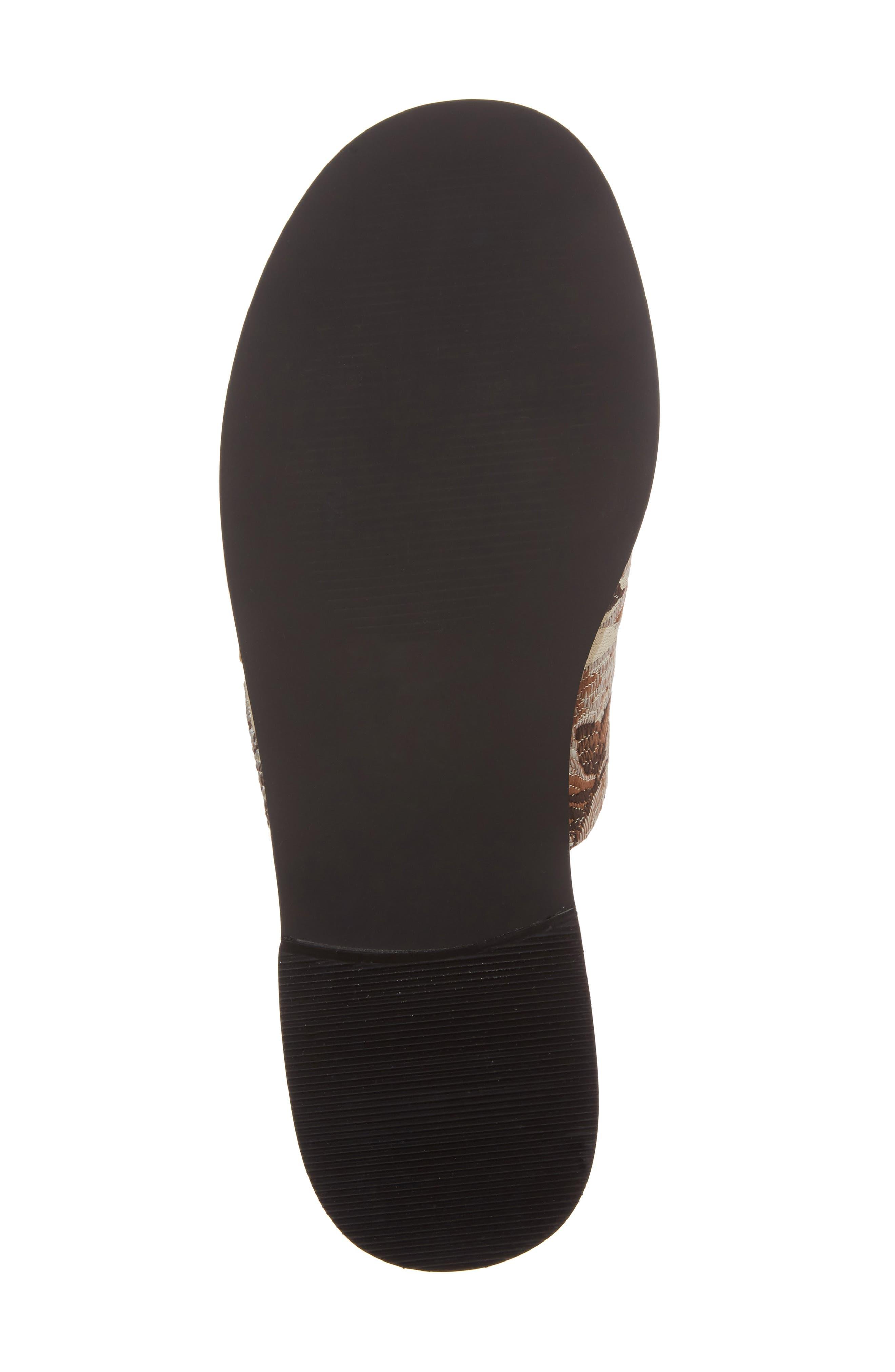 Alternate Image 6  - Shellys London Enya Brocade Slide Sandal (Women)