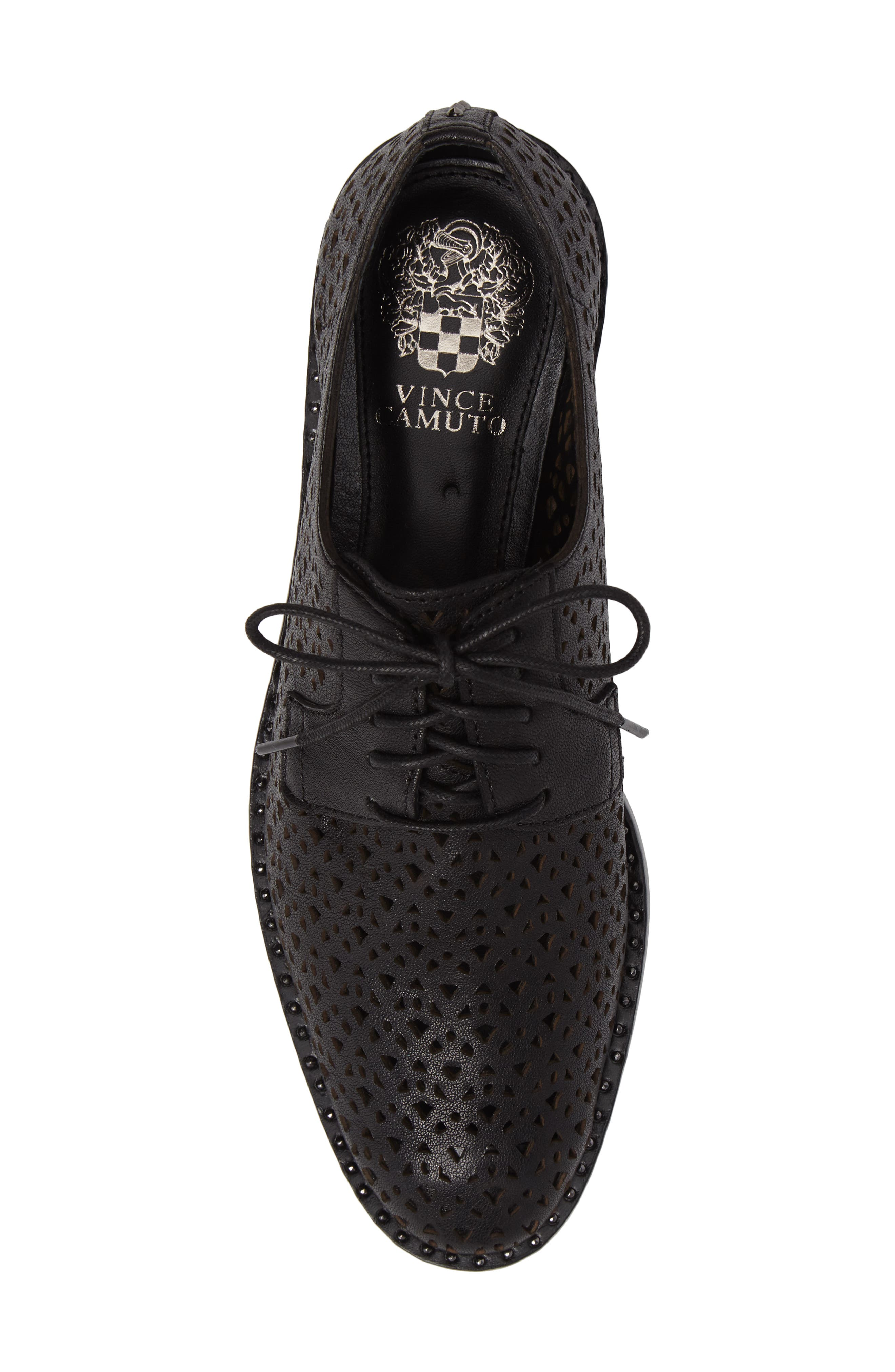 Alternate Image 5  - Vince Camuto Lesta Geo Perforated Oxford (Women)