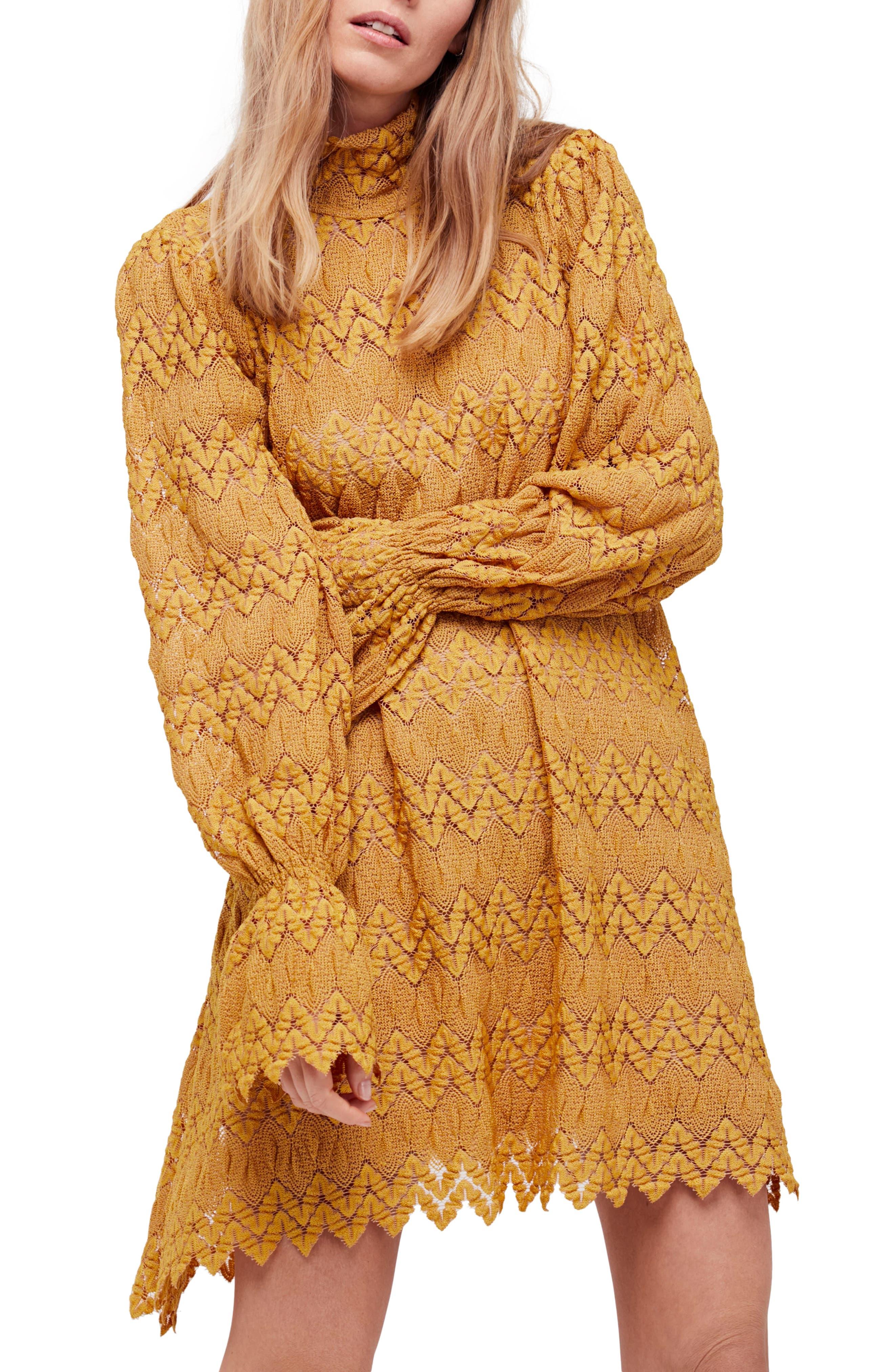Simone Minidress,                         Main,                         color, Yellow Combo