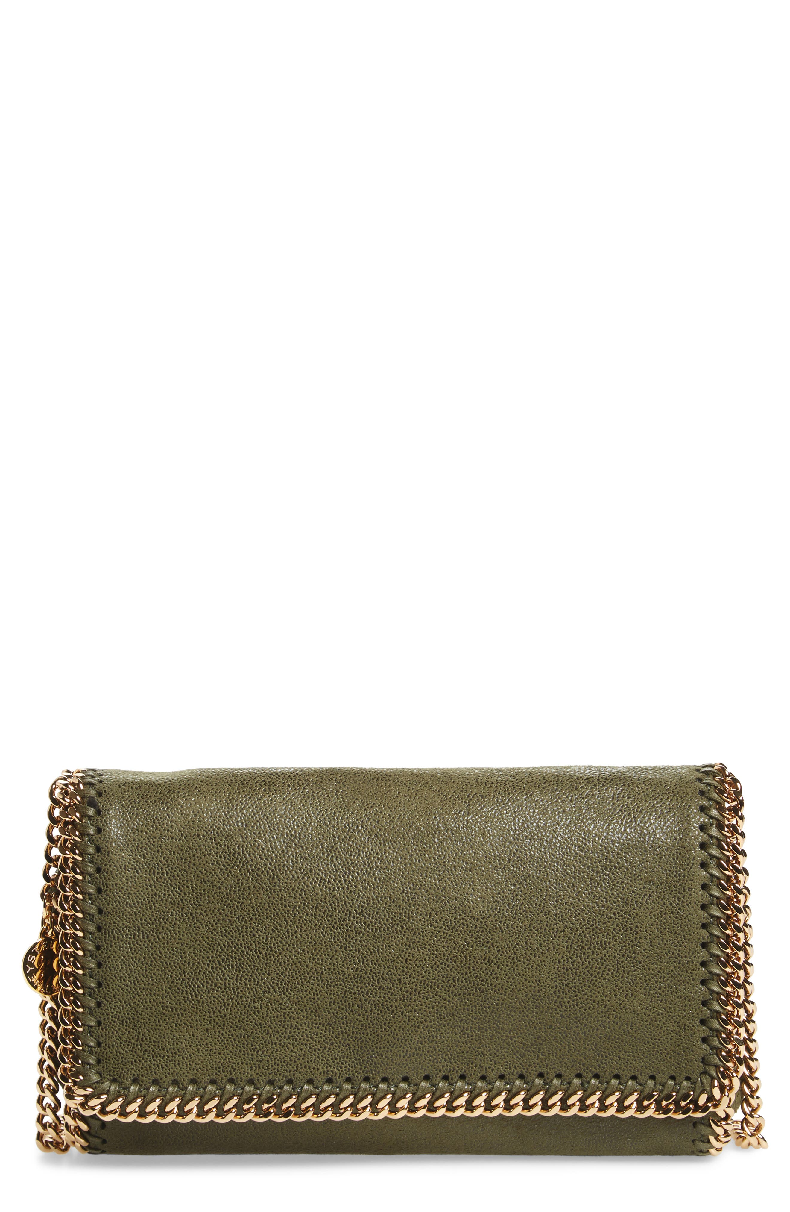 STELLA MCCARTNEY Falabella - Shaggy Deer Faux Leather Crossbody Bag