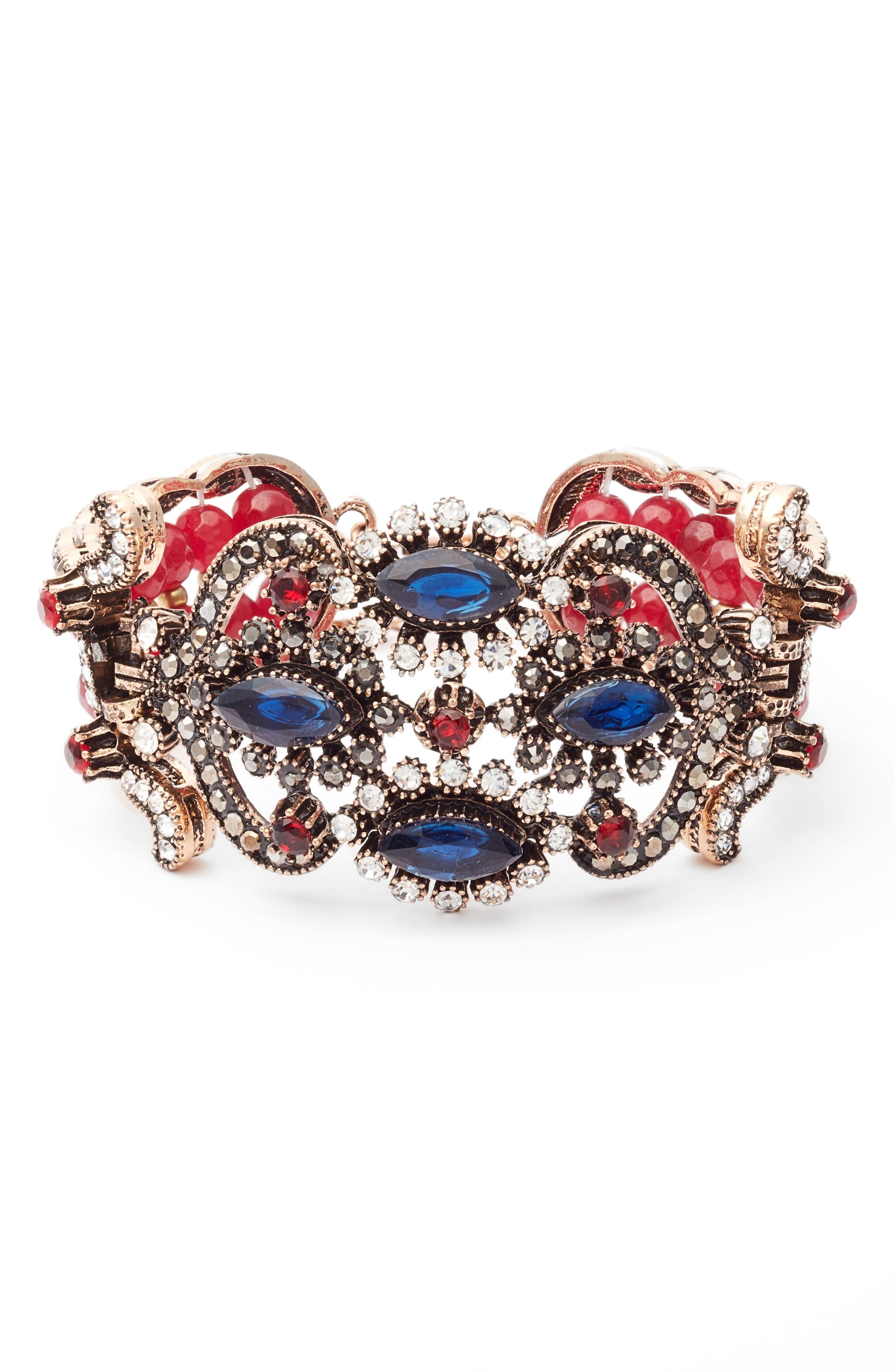 SAREH BY SAREH NOURI Crystal Bracelet