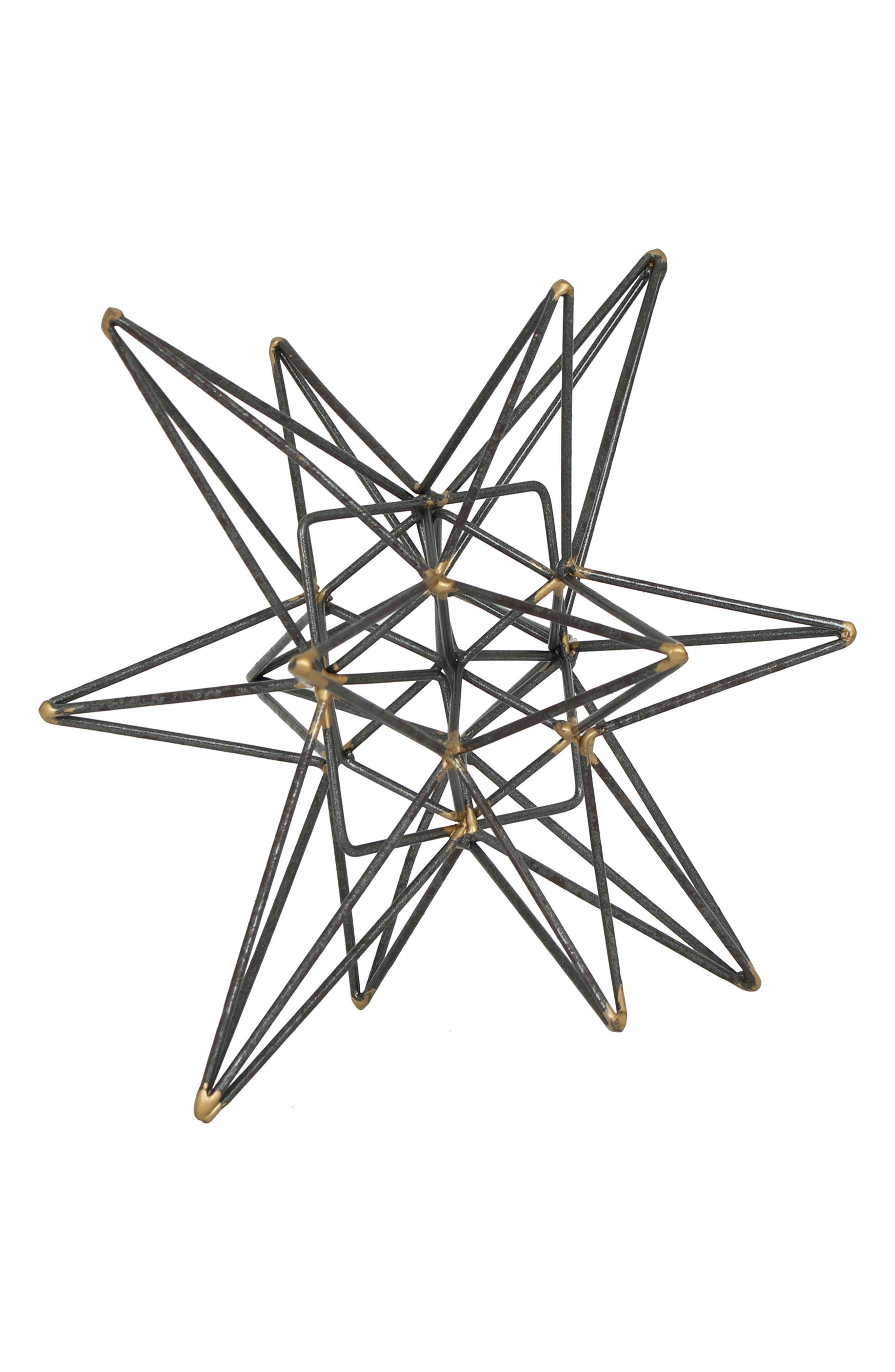 Main Image - Crystal Art Gallery Metal Star Tabletop Decoration
