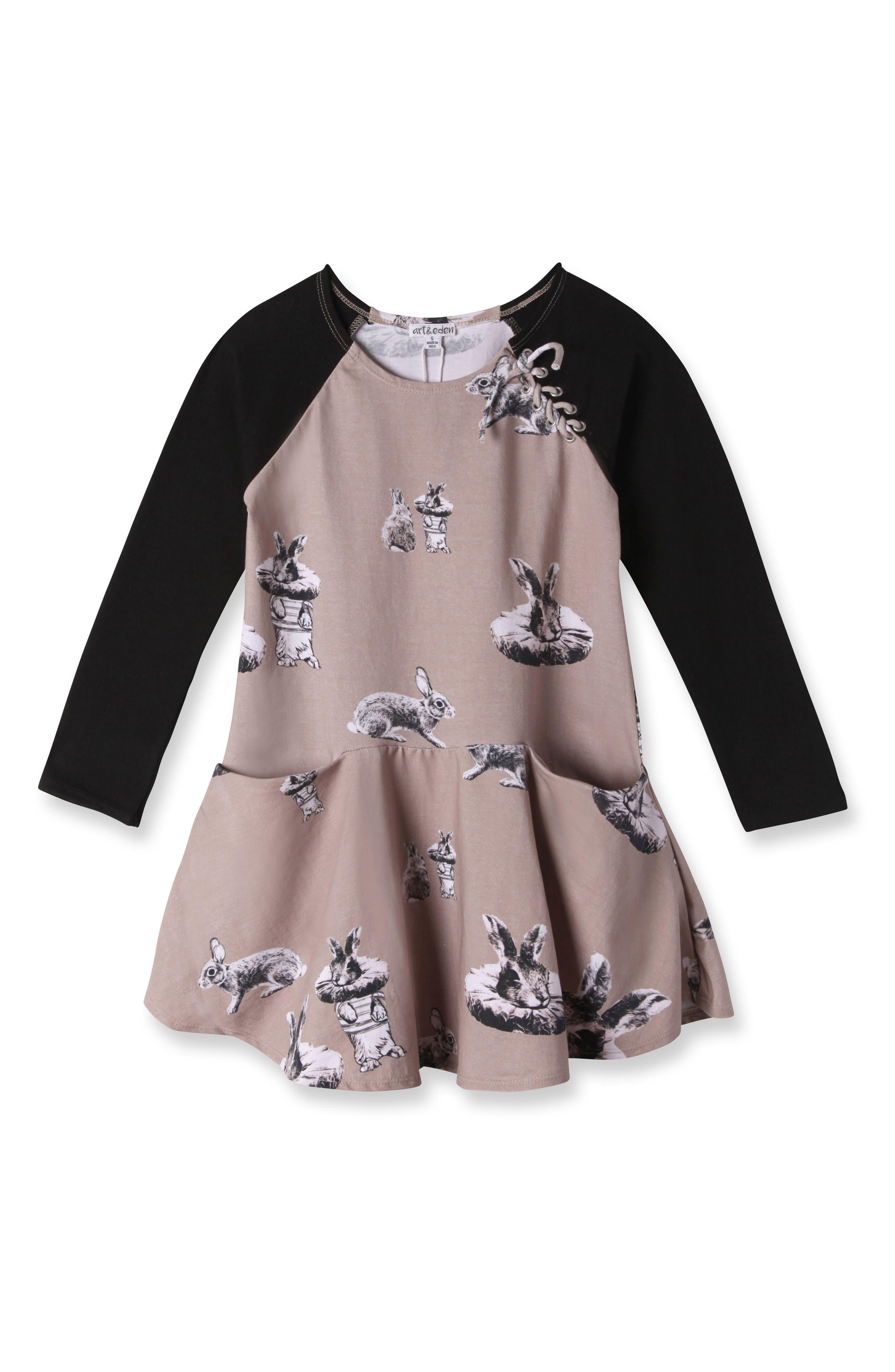 Main Image - Art & Eden Isabella Dress (Toddler Girls & Little Girls)