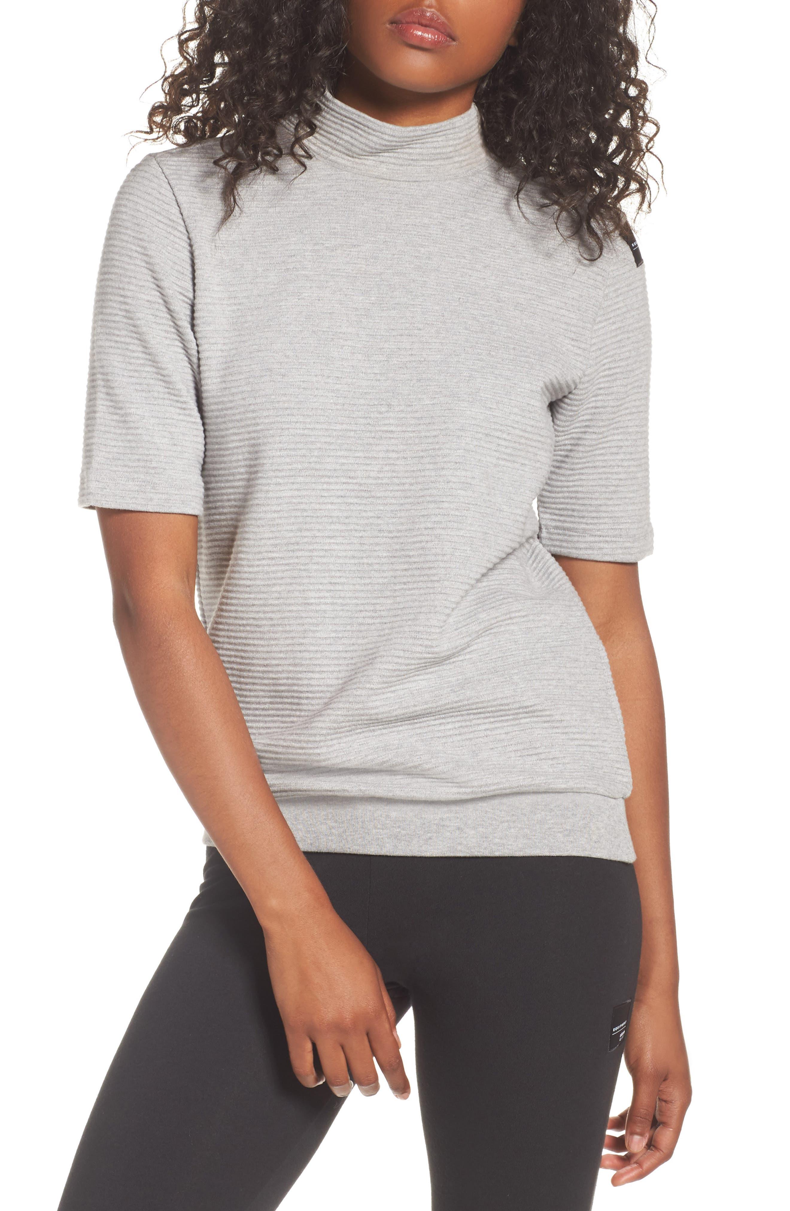 Originals EQT Sweatshirt,                             Main thumbnail 1, color,                             Medium Grey Heather