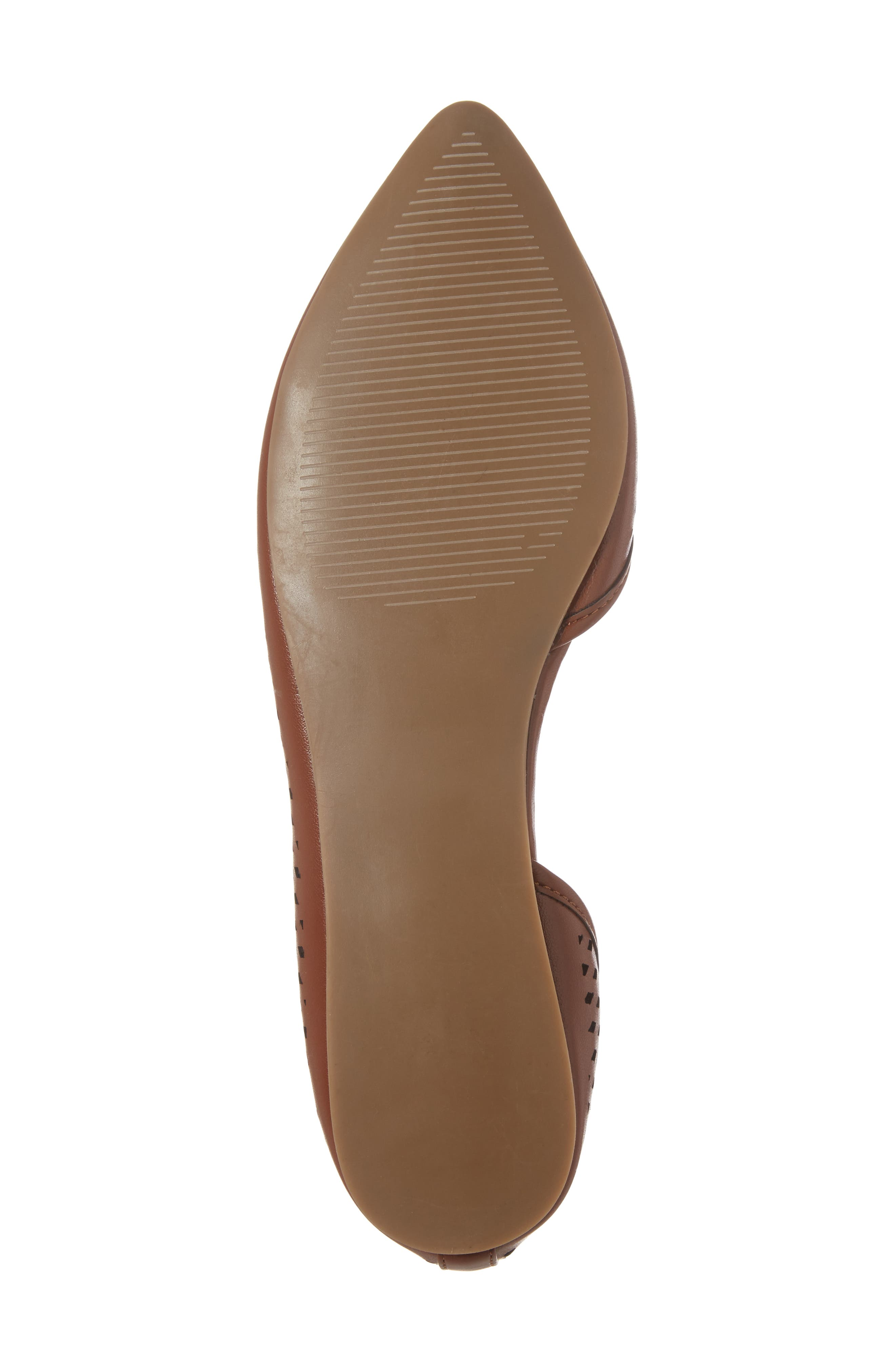 Swiftye Half d'Orsay Flat,                             Alternate thumbnail 6, color,                             Tan Synthetic Leather