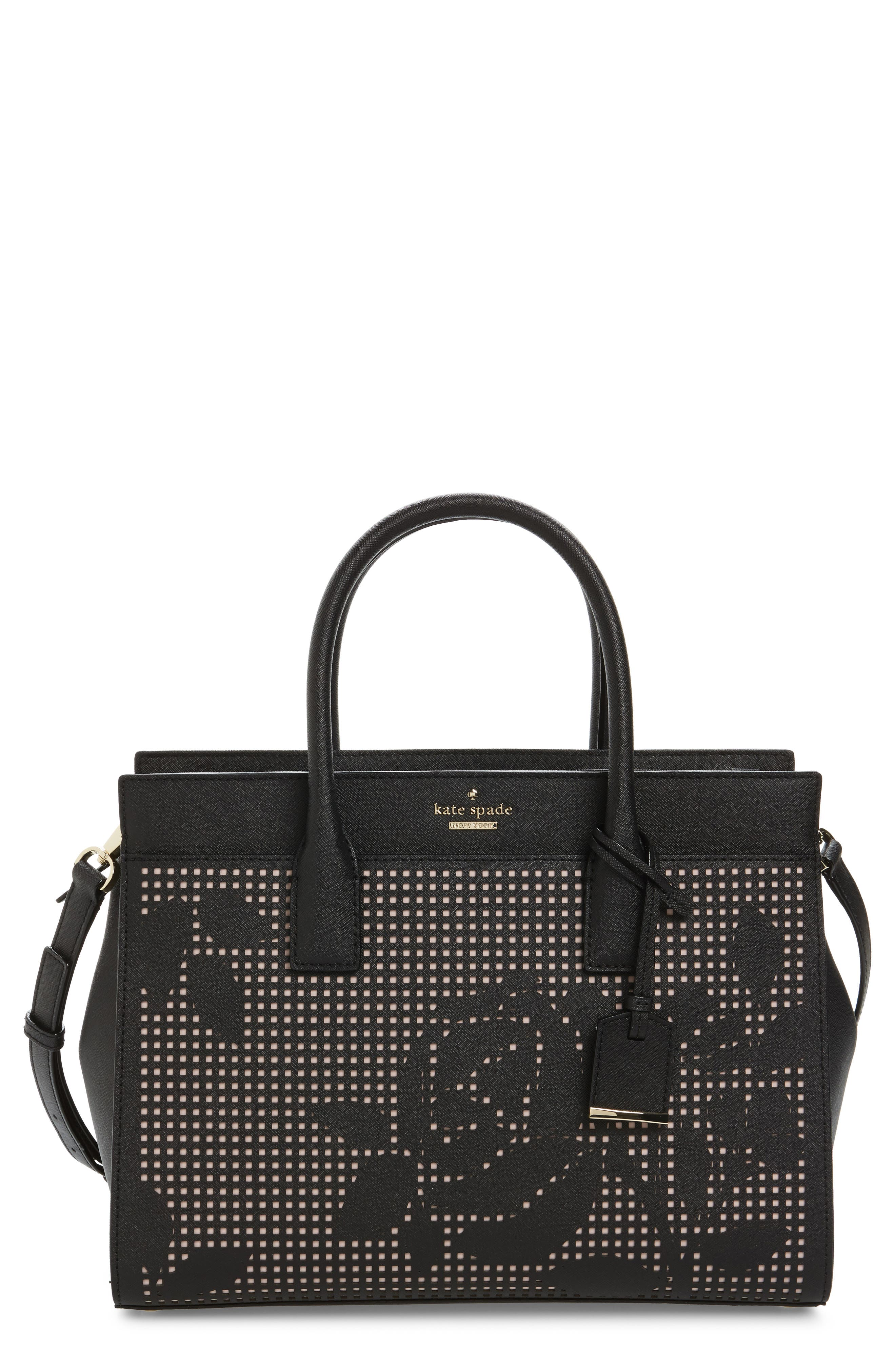 KATE SPADE NEW YORK cameron street - candace perforated leather satchel