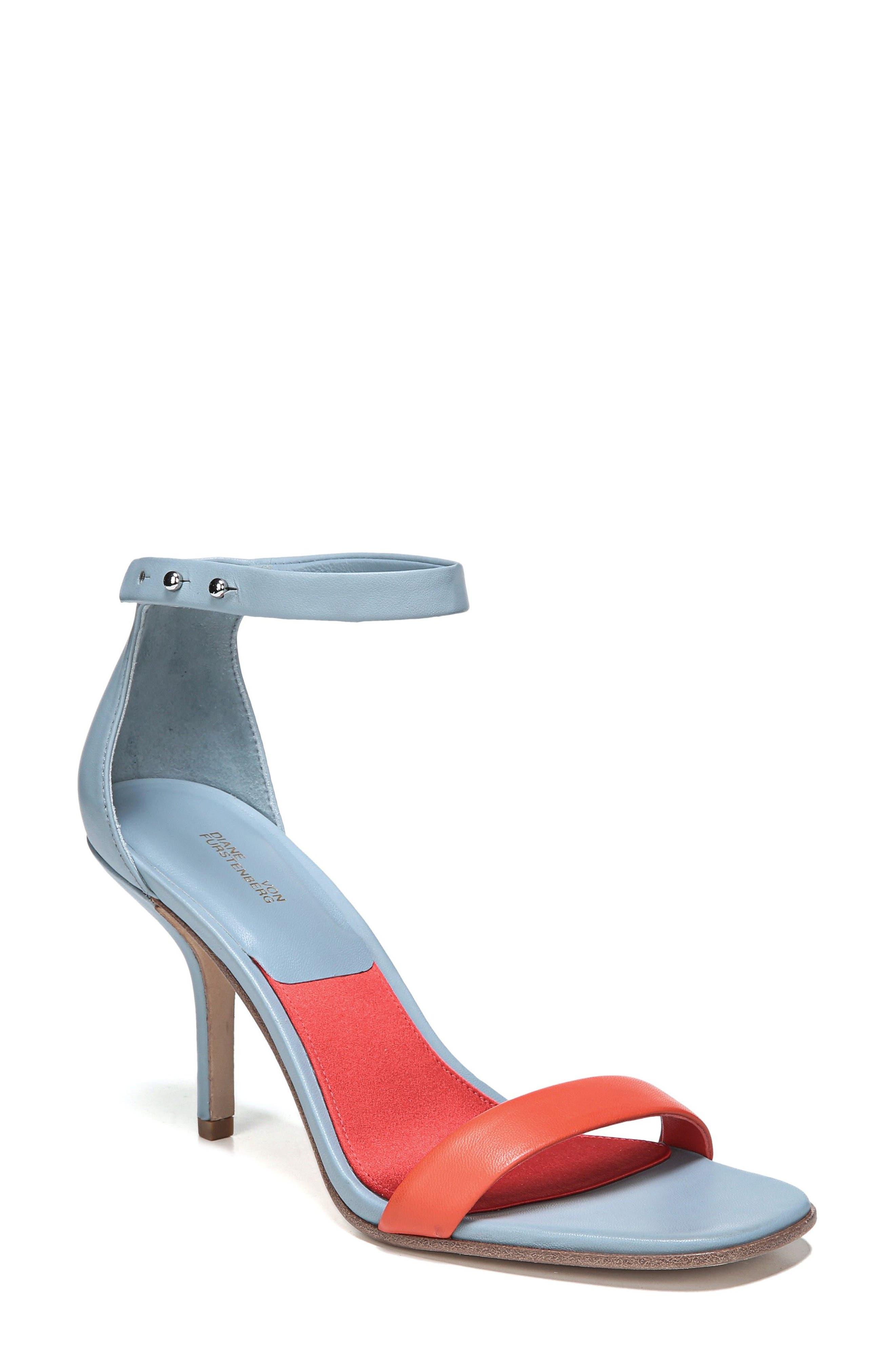 Alternate Image 1 Selected - Diane Von Furstenberg Ferrara Ankle Strap Sandal (Women)