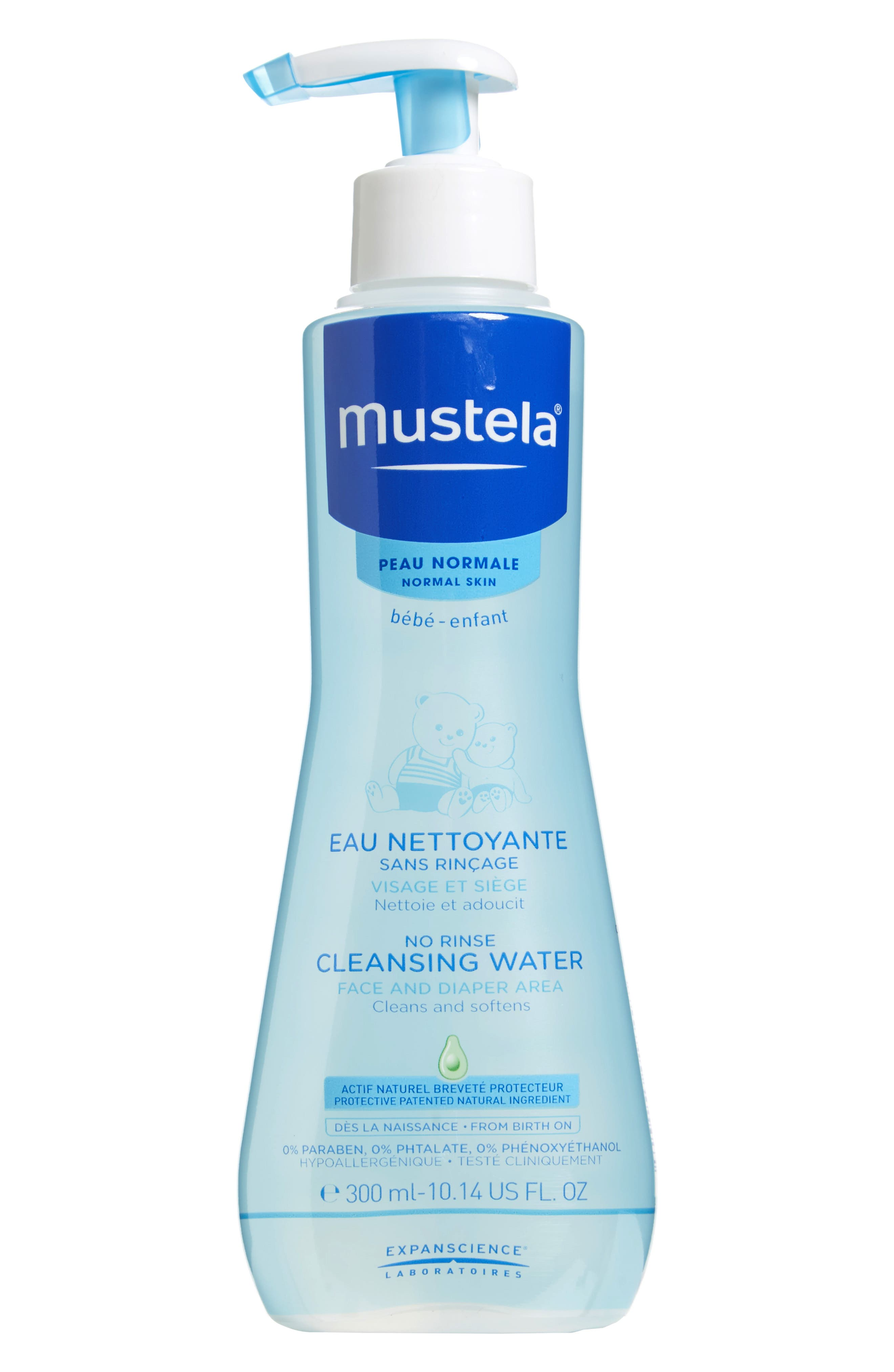 No-Rinse Cleansing Water,                         Main,                         color, White Tint