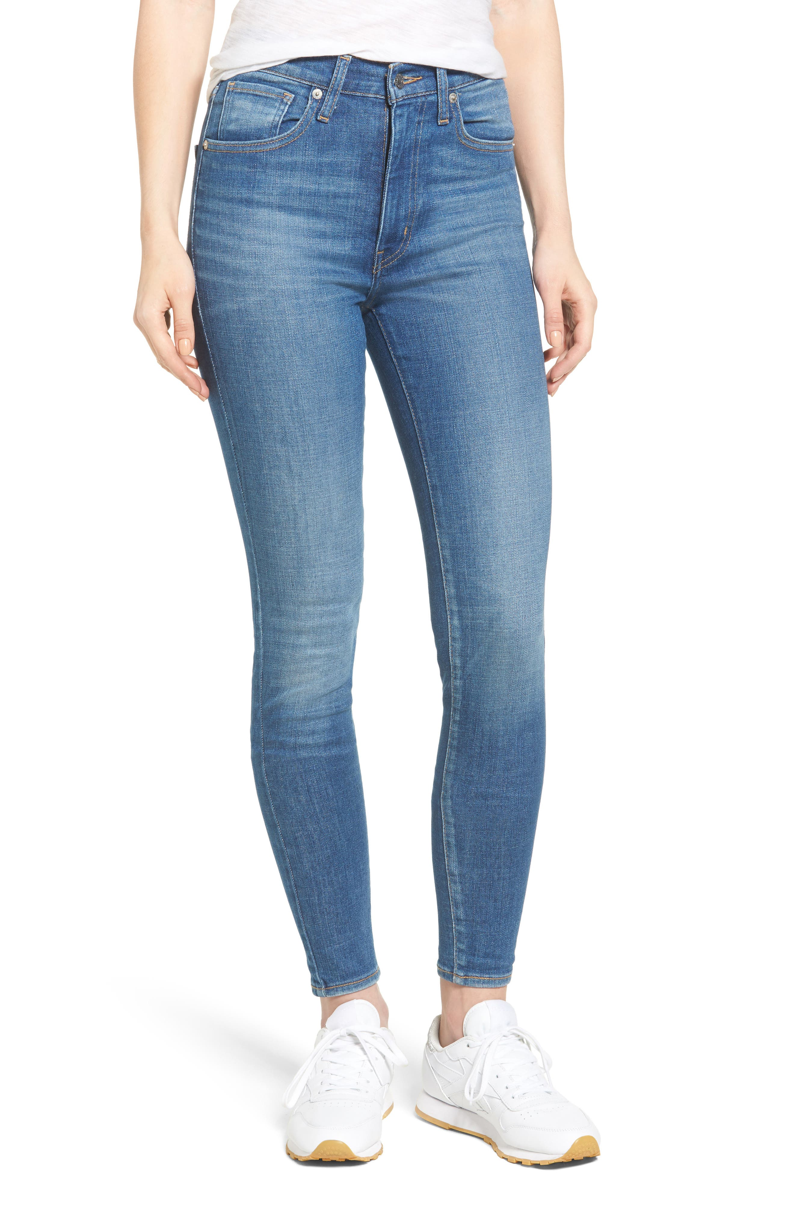 Mile High Skinny Jeans,                             Main thumbnail 1, color,                             Shut The Front Door