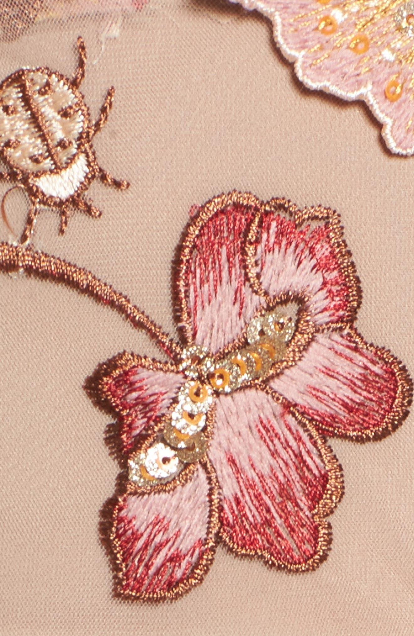 Alternate Image 5  - For Love & Lemons Botanic Midi Dress