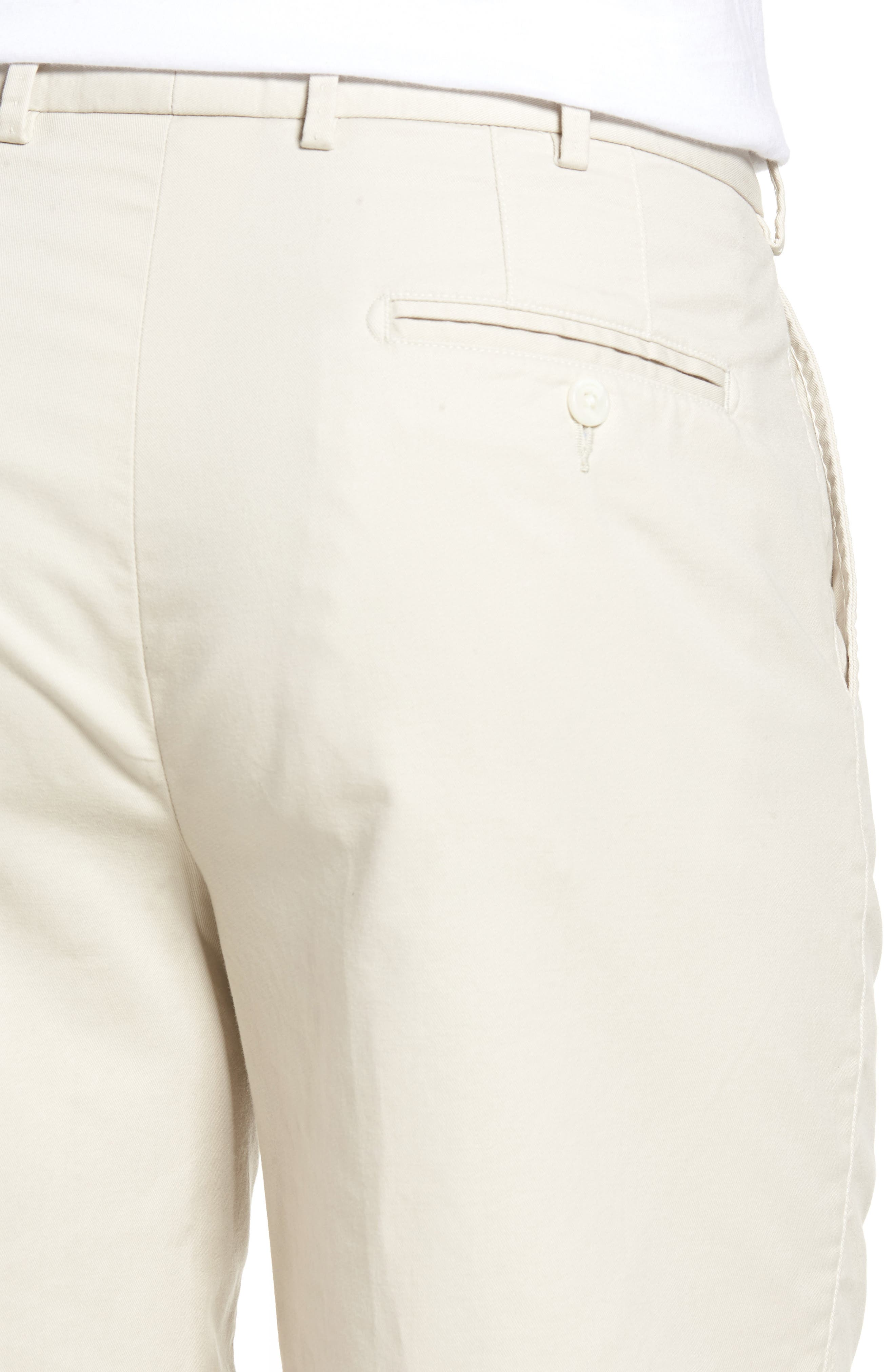 Alternate Image 4  - Peter Millar Soft Touch Twill Shorts (Tall)