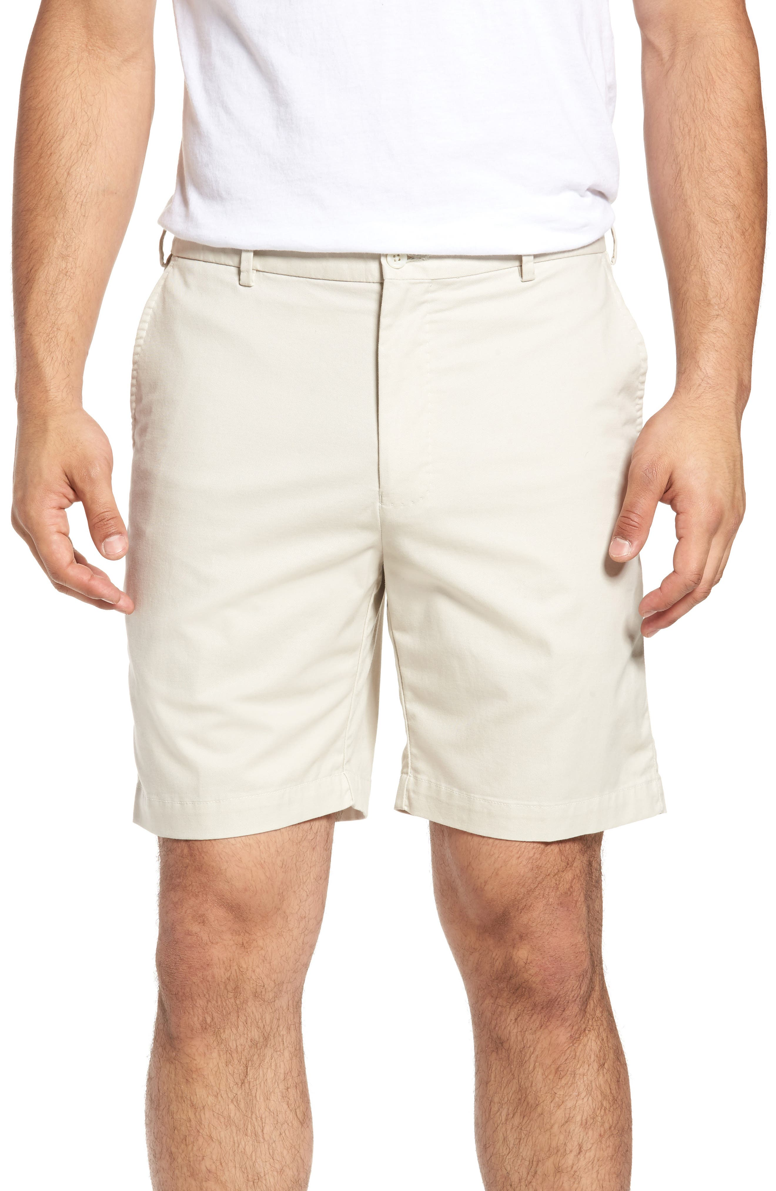Main Image - Peter Millar Soft Touch Twill Shorts (Tall)